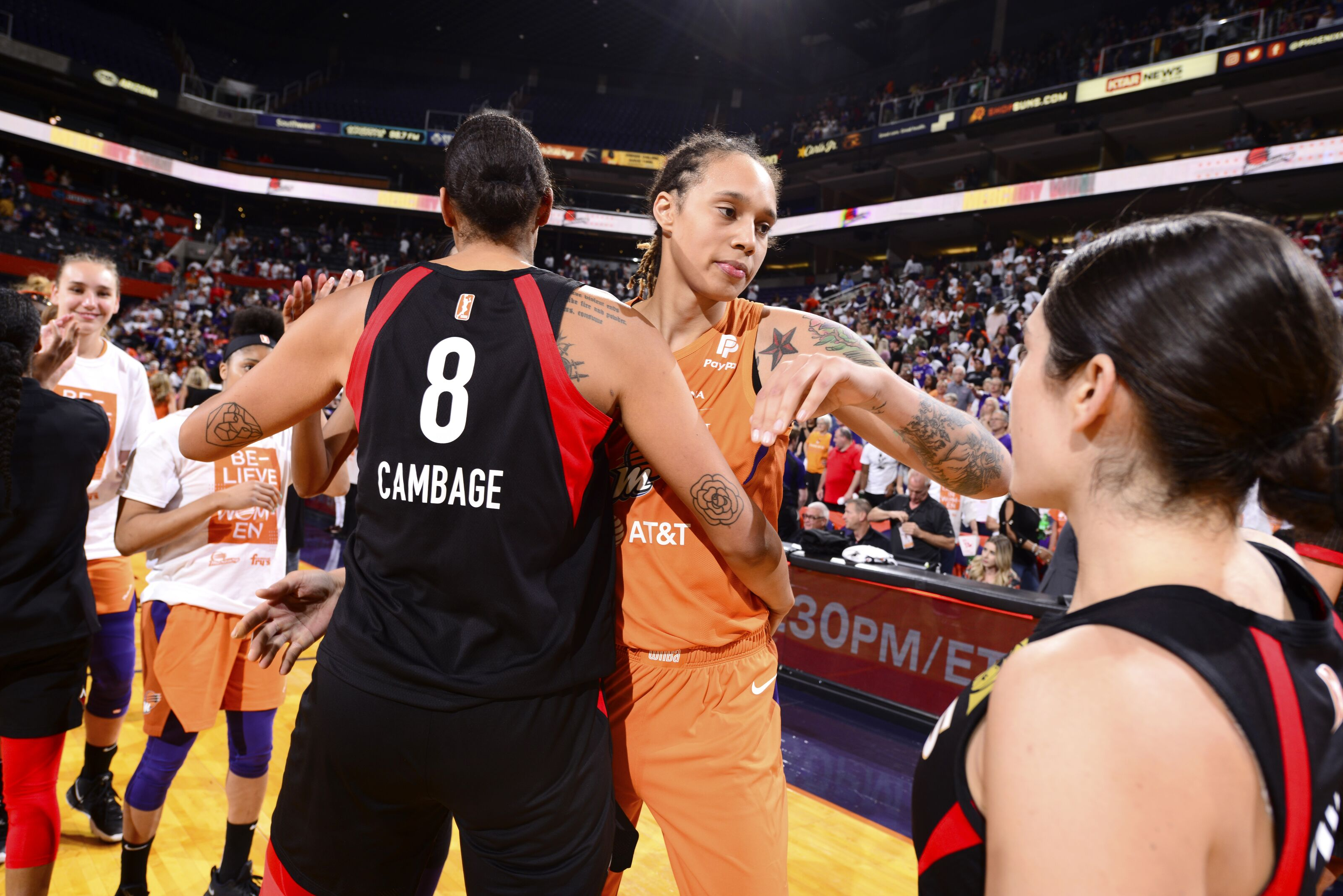 Expectations for Phoenix Mercury largely unknown in playoffs