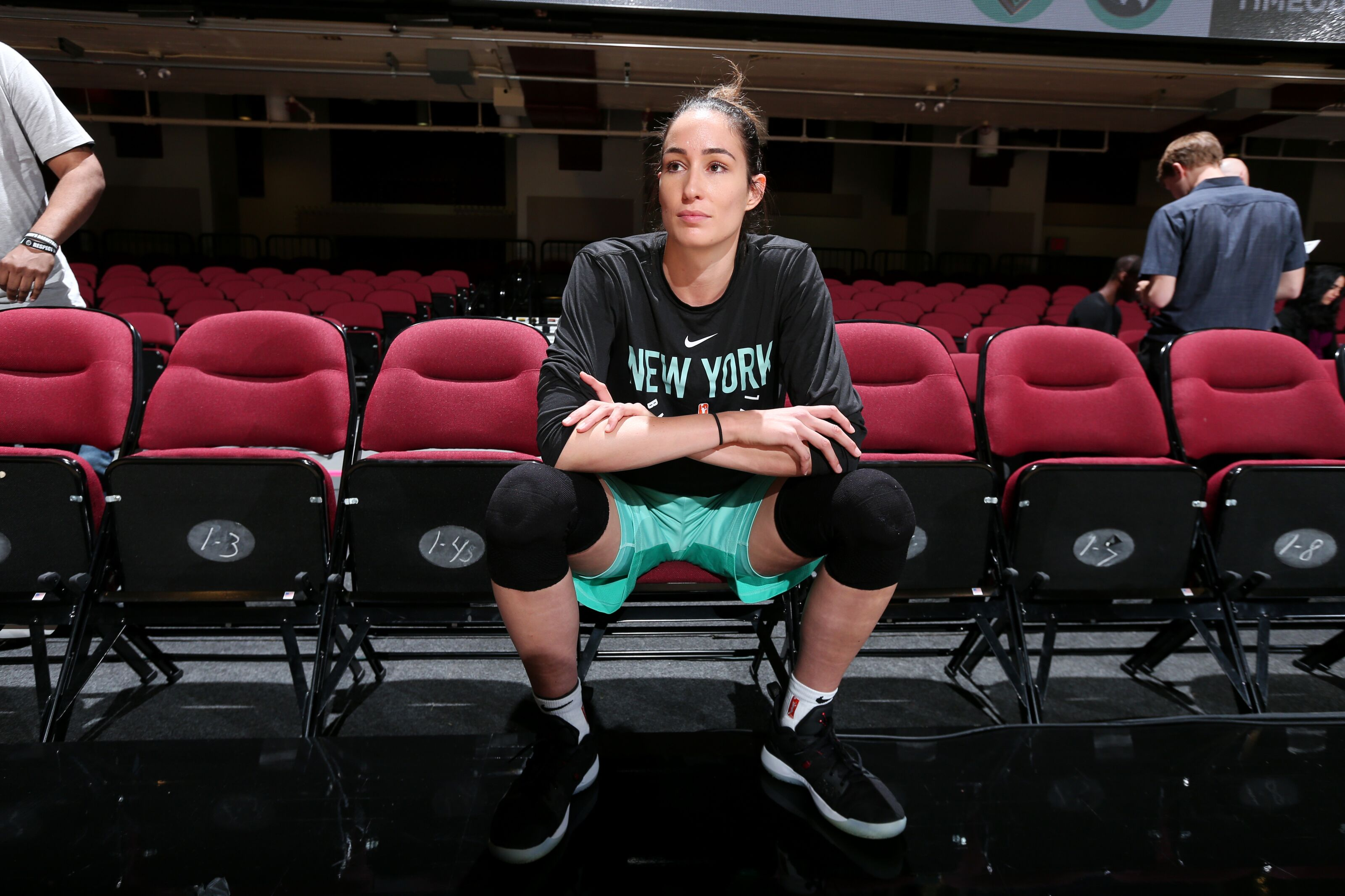 Rebecca Allen out against the Lynx with a hand injury