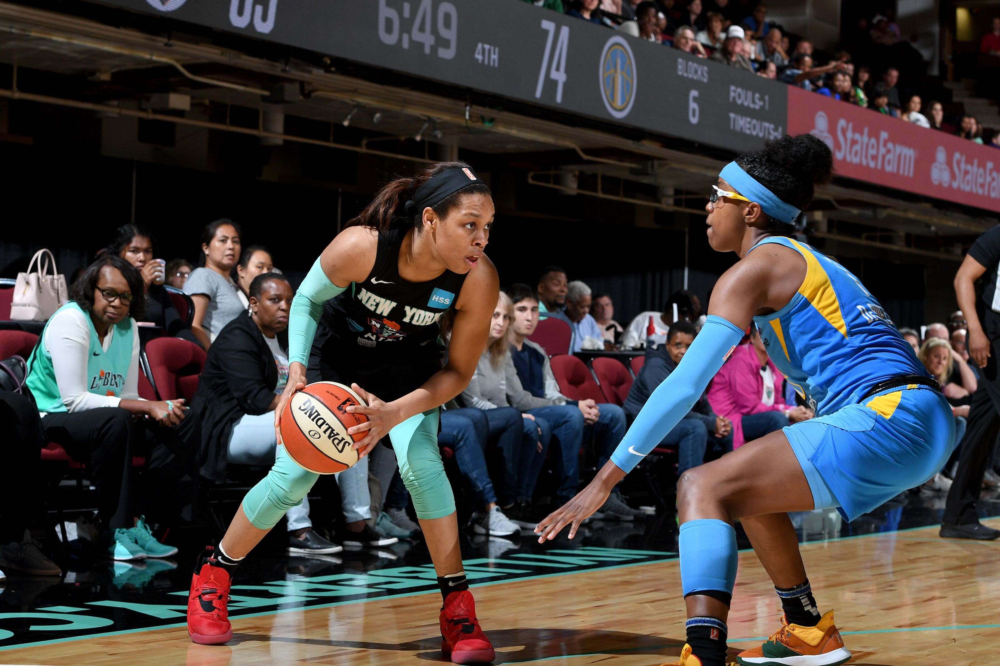 Missed opportunities plague Liberty in loss to Sky