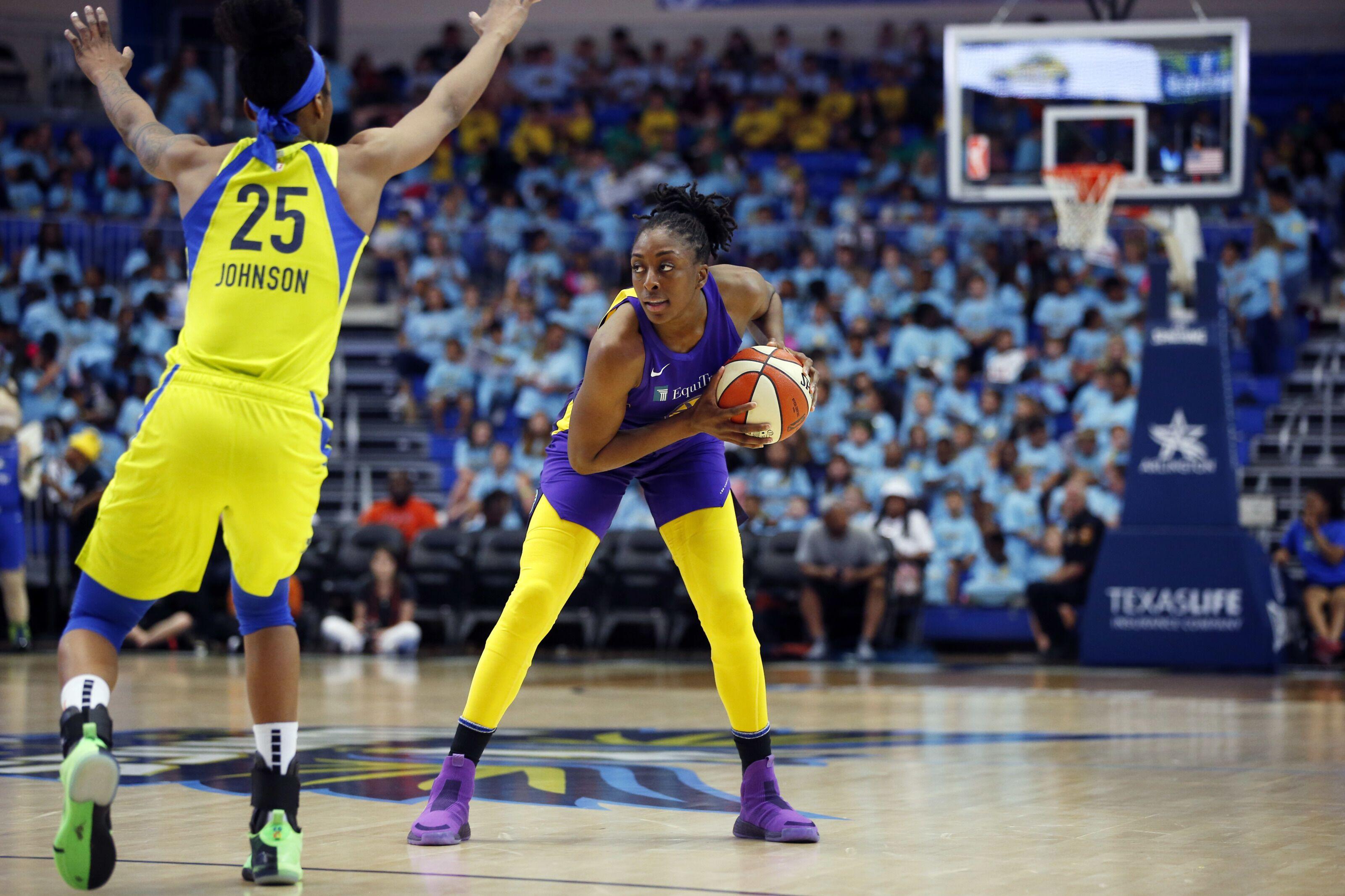 Jones and Ogwumike named WNBA Players of the Week