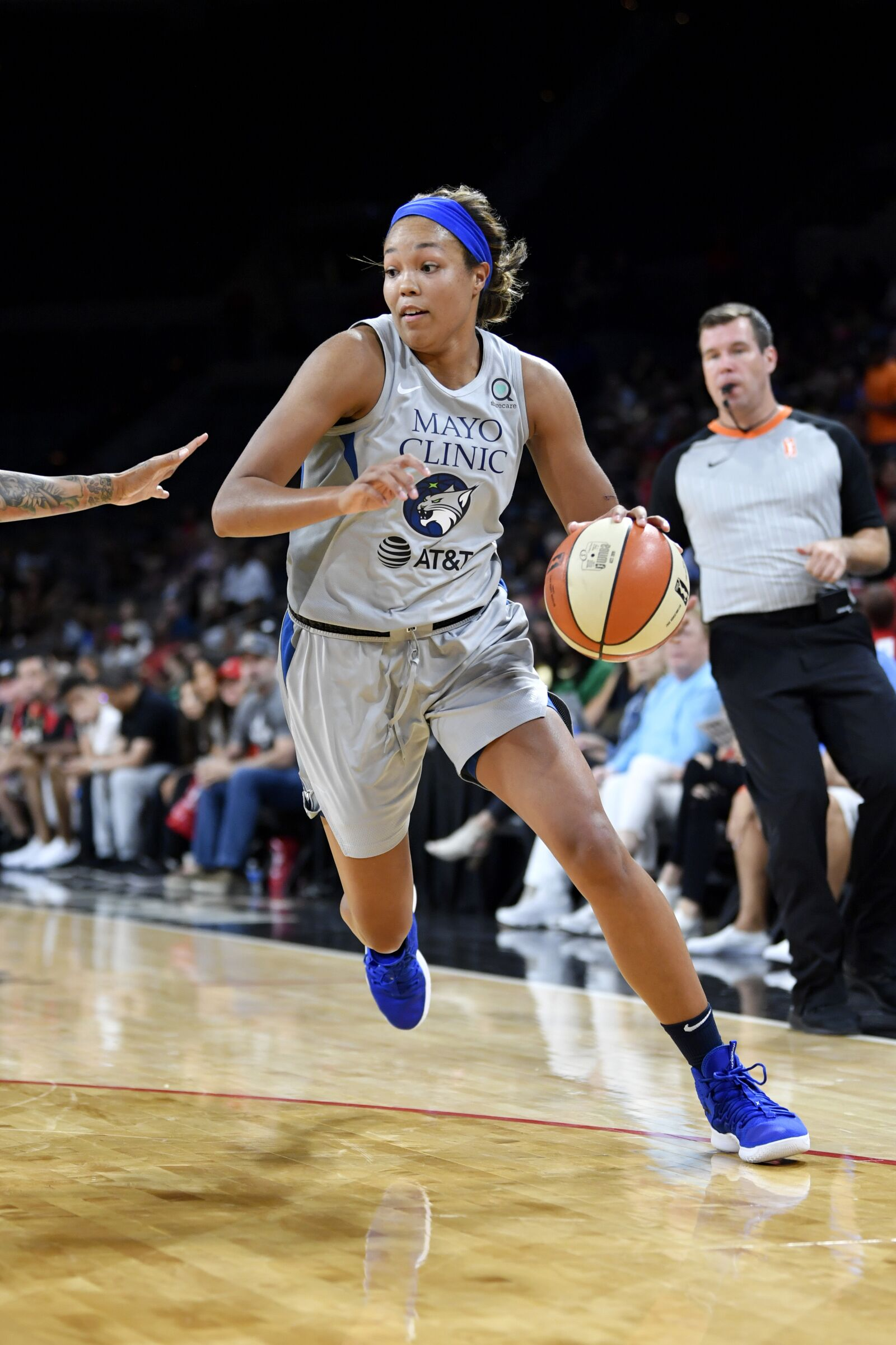 Napheesa Collier replaces A'Ja Wilson in the all-star game