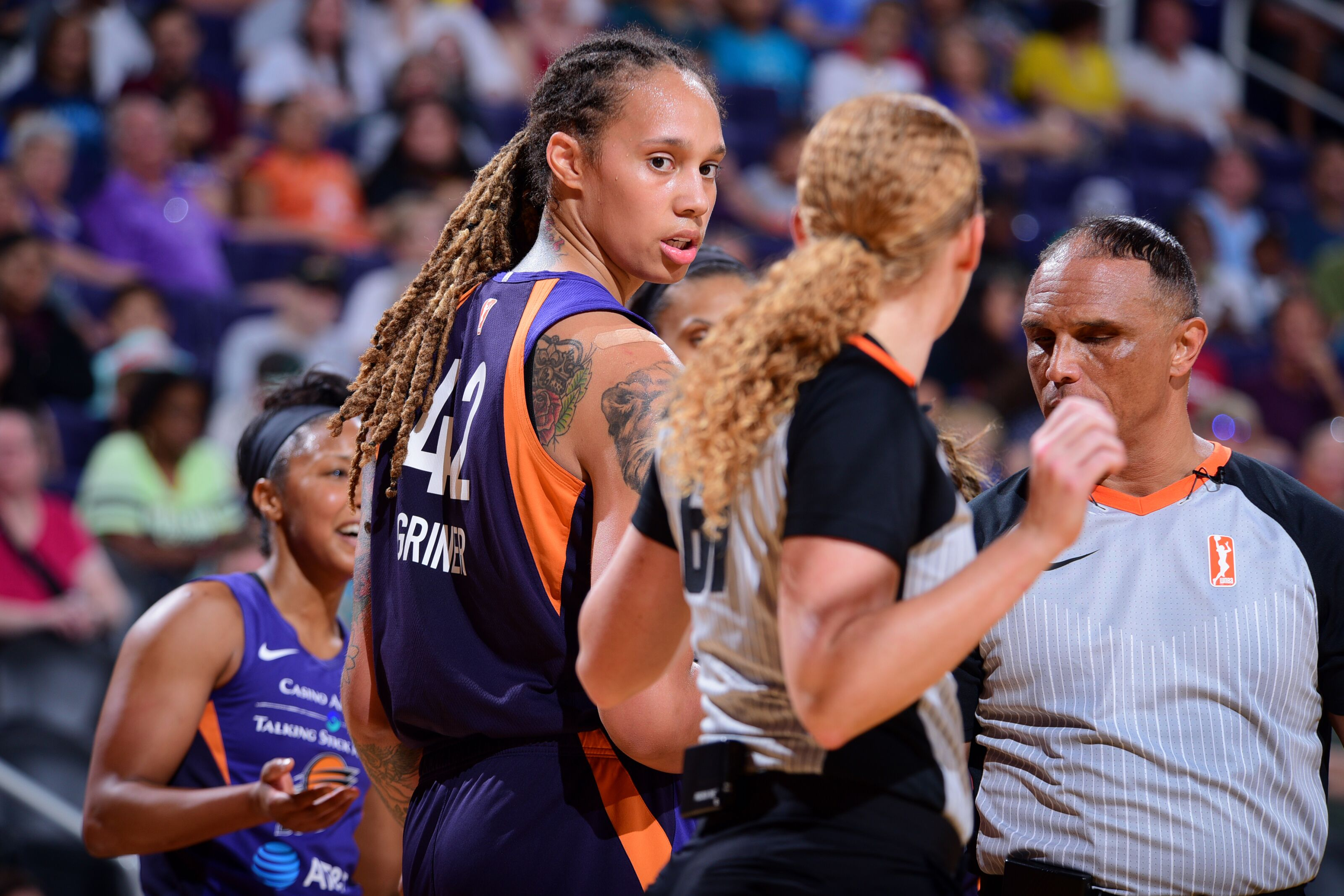 'It's not consistent across the board': Brittney Griner responds to her three-game suspension