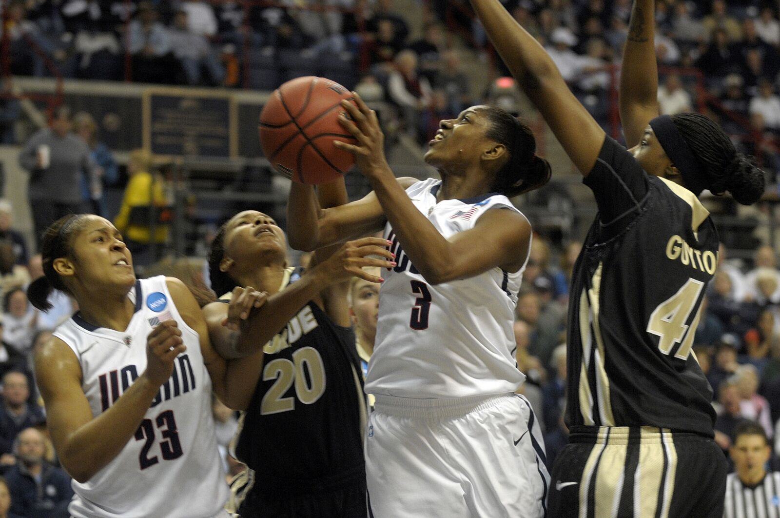 Purdue women's basketball adds alum Alex Guyton to staff