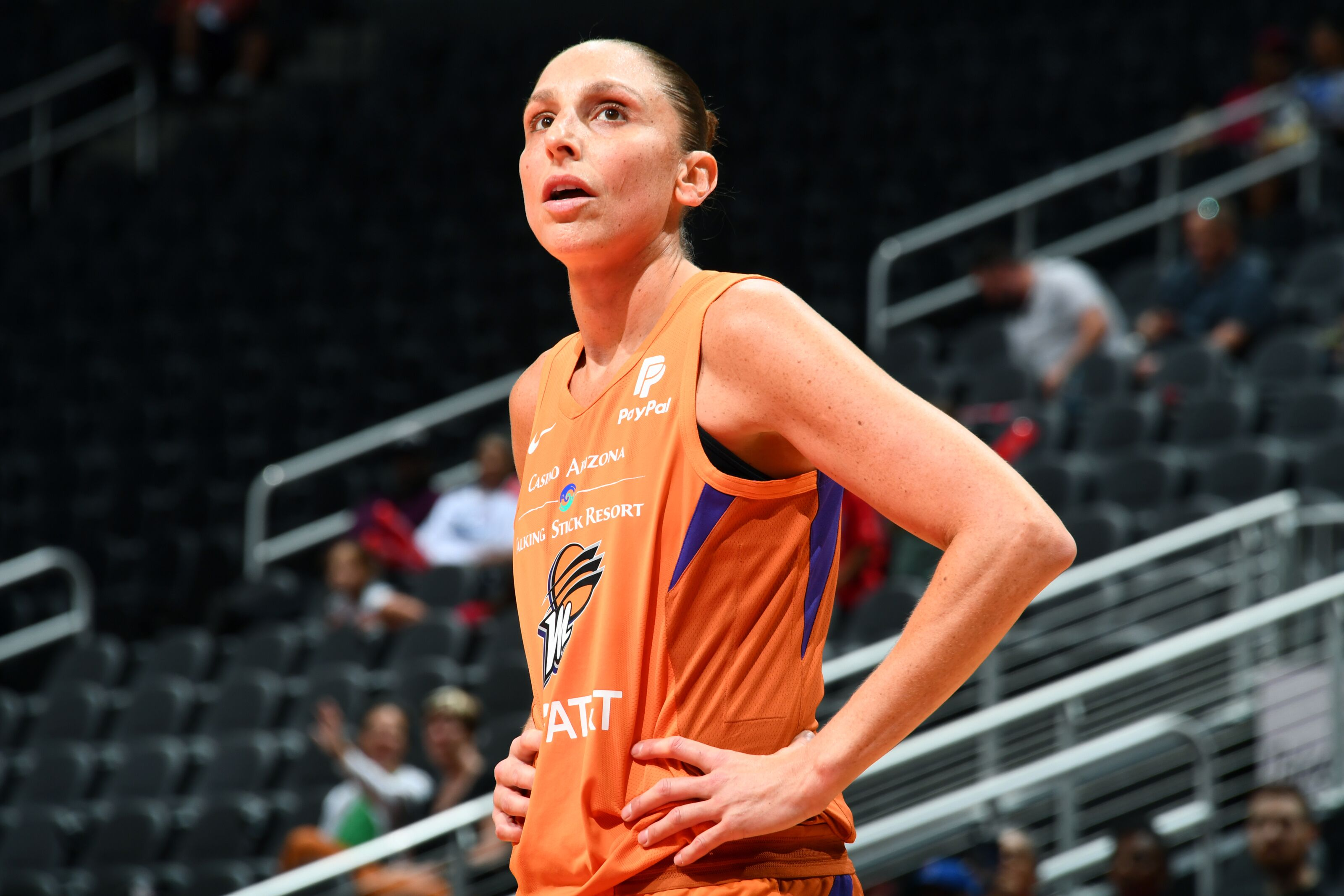 Diana Taurasi doubtful for opening round of WNBA playoffs