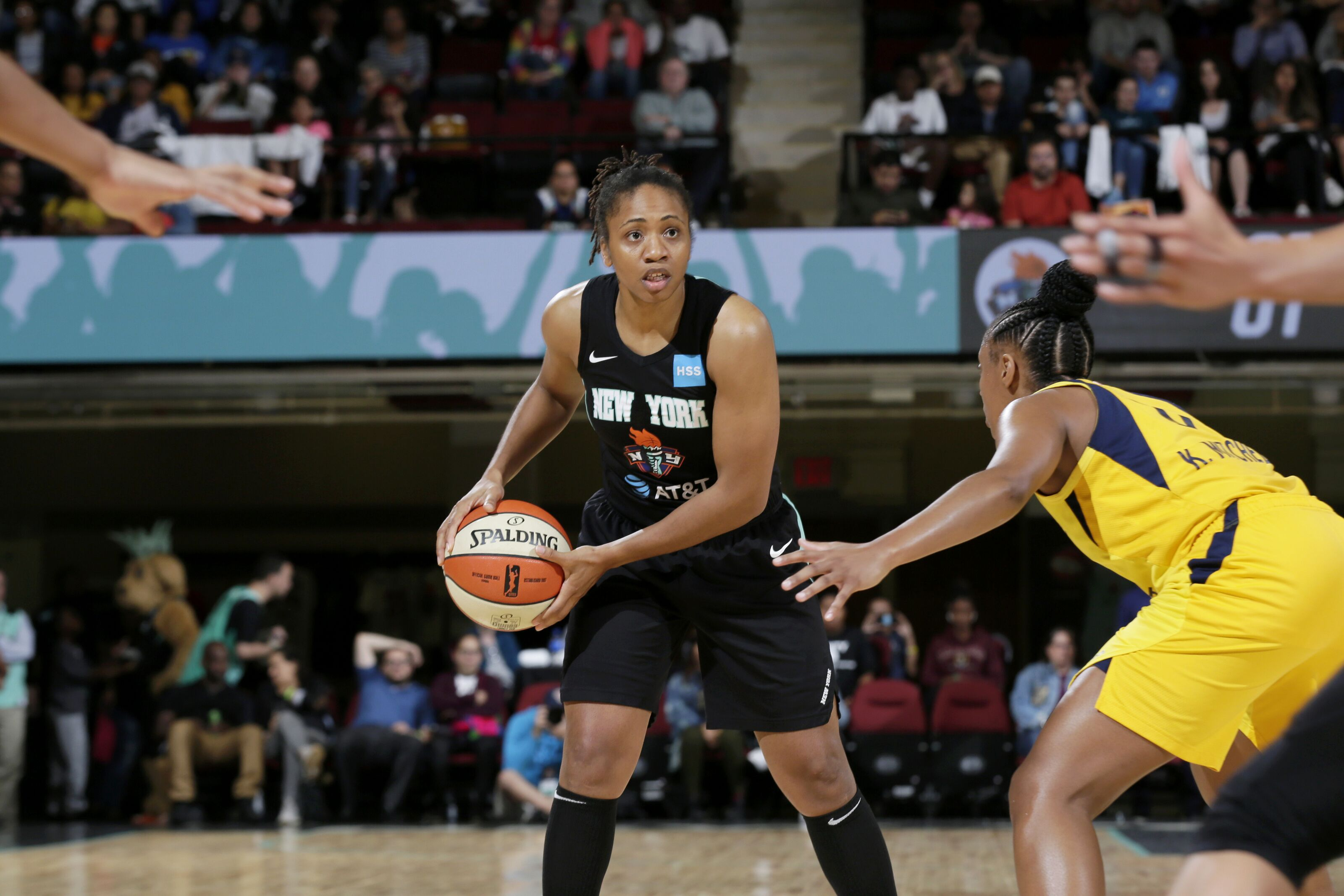 """T was a huge spark for us""–– Tanisha Wright's influence on the Liberty"