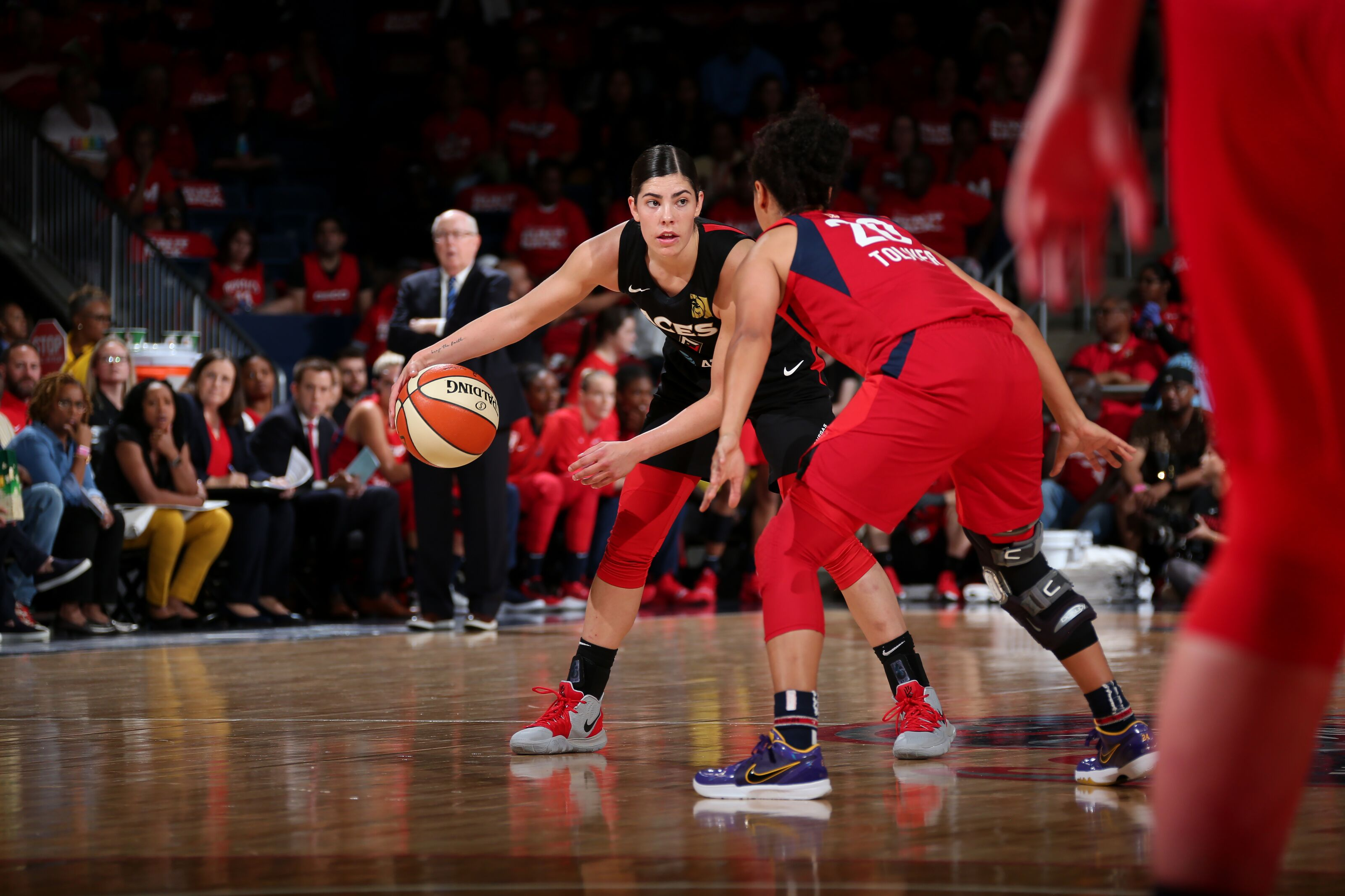 """""""What's good LaChina?"""" Kelsey Plum is finding her edge coming off the bench"""