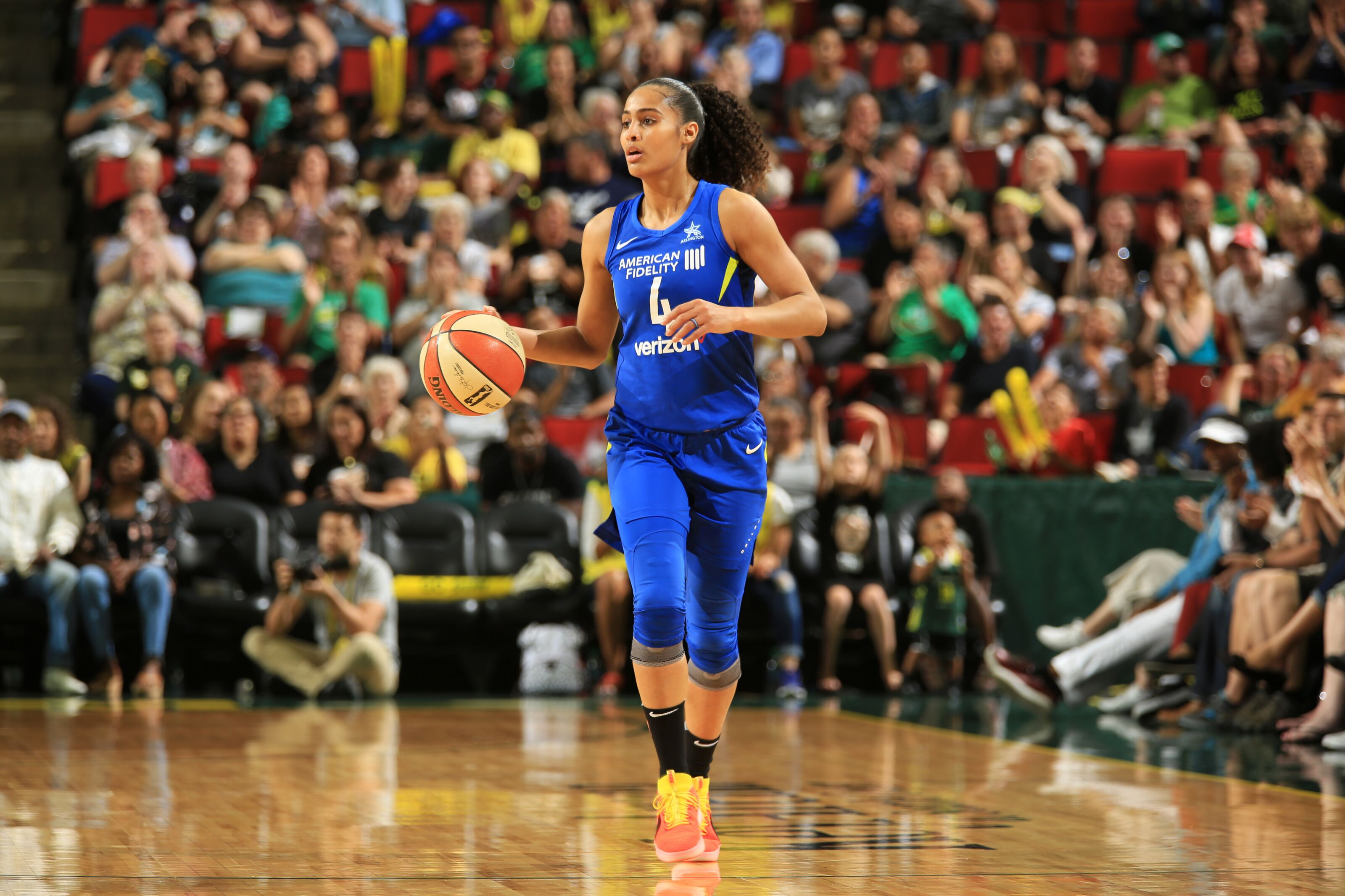 Skylar Diggins-Smith says she does not plan on returning to Dallas