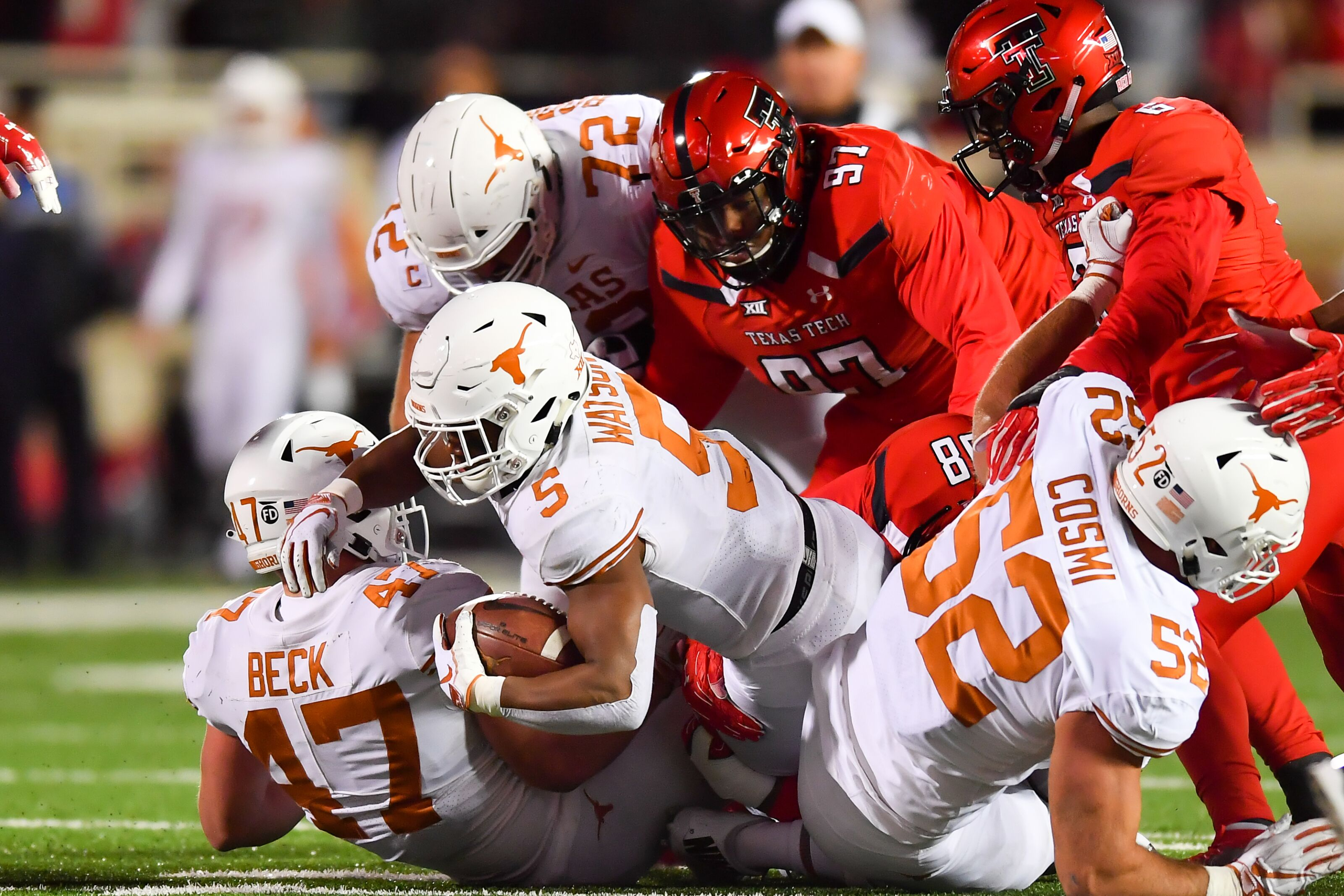 Texas Football: Takeaways from enlivening road victory over Texas Tech