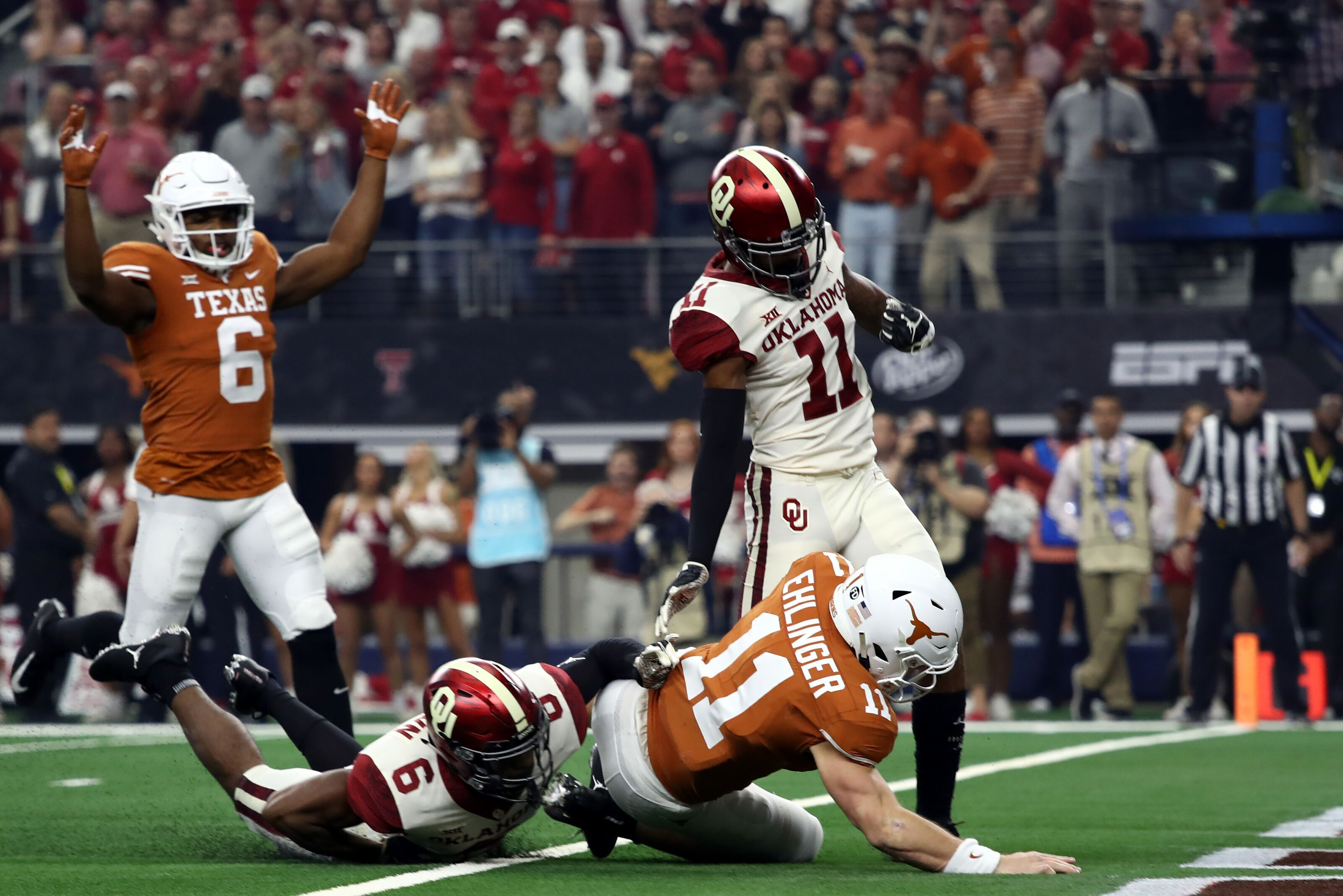 Texas Football: 5 things we learned from Big 12 Title Game ...