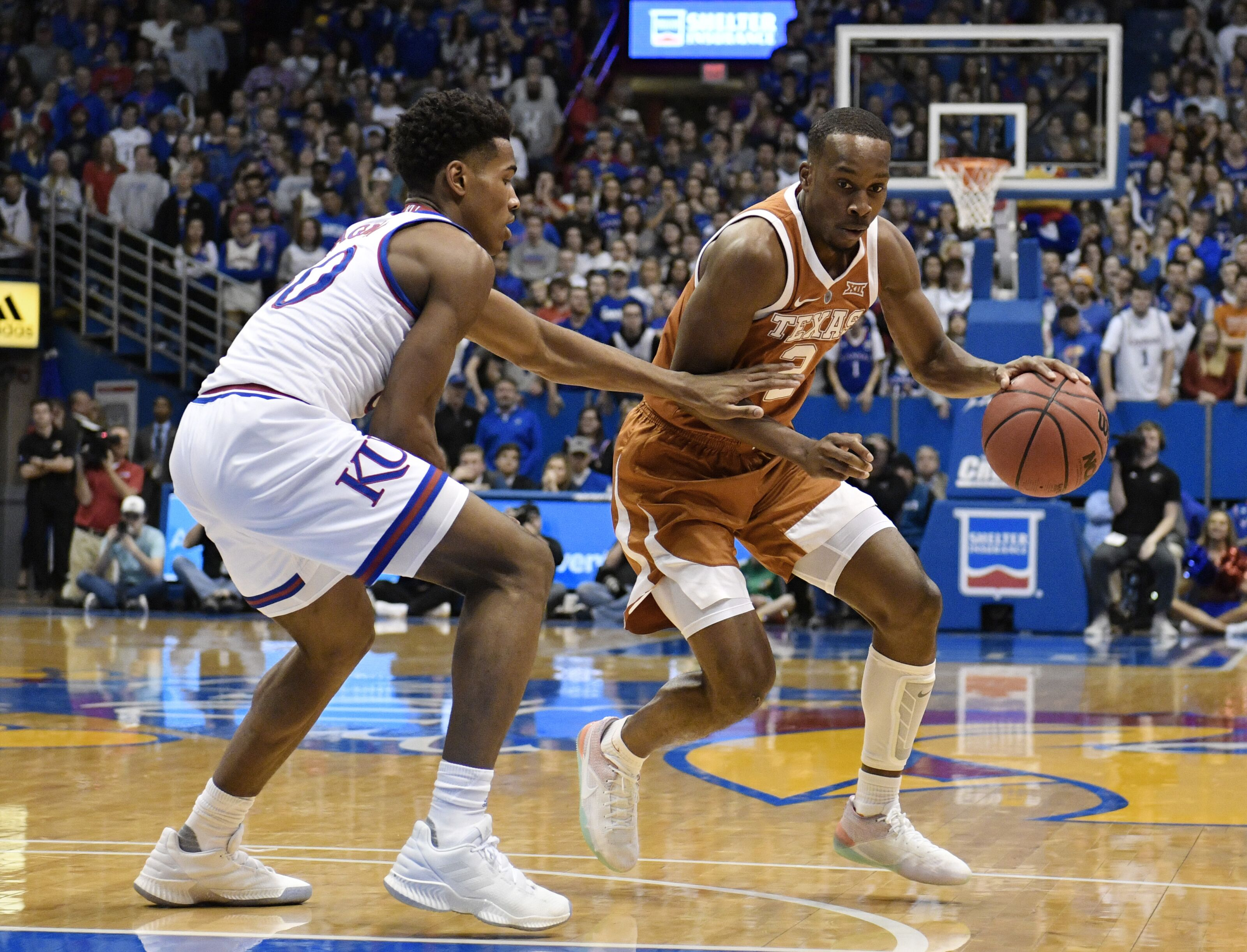 Texas Basketball: Can Longhorns continue KU's downslide?