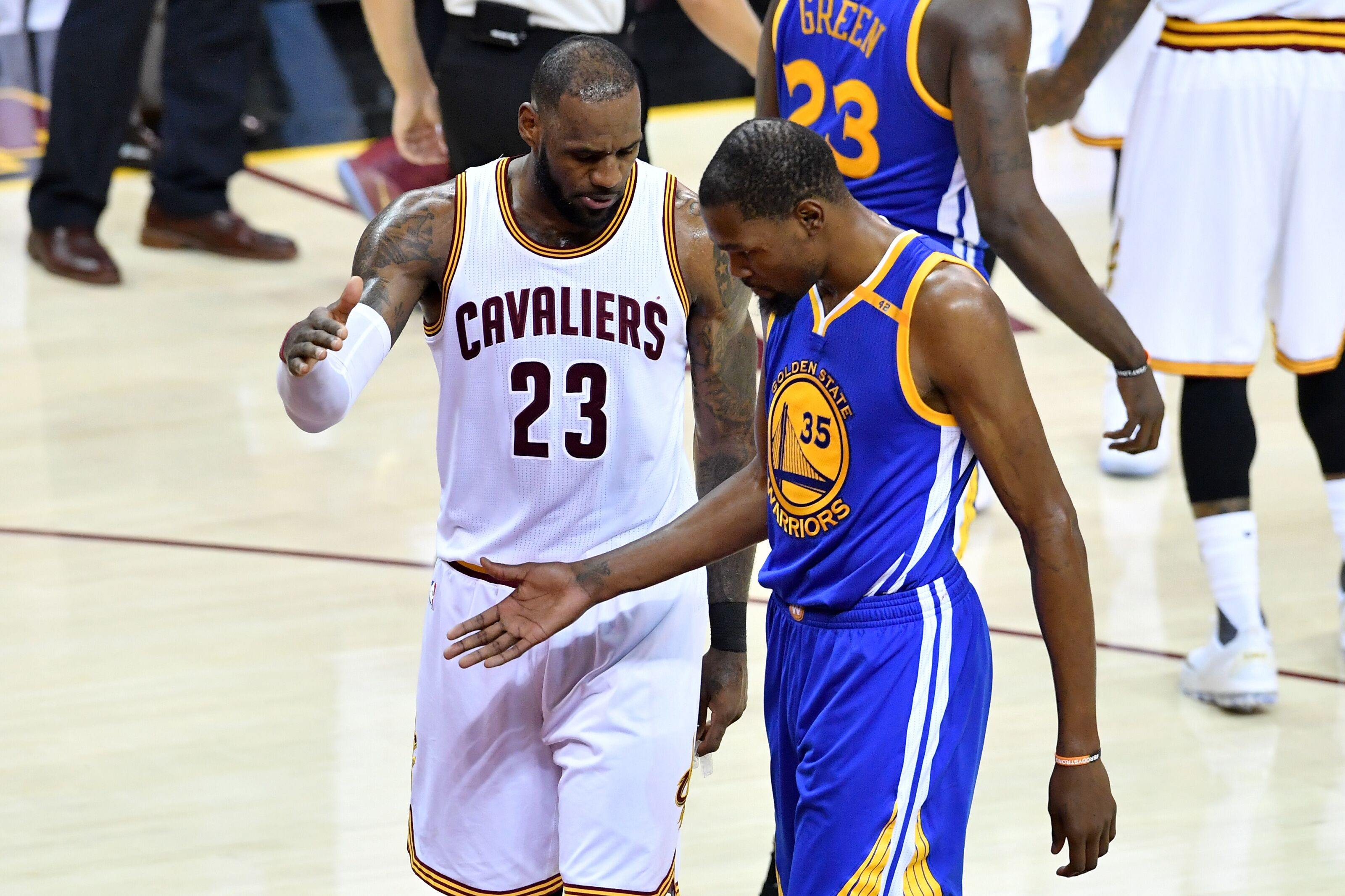 cb170dcd31d Team LeBron selects Kevin Durant amid first NBA player draft