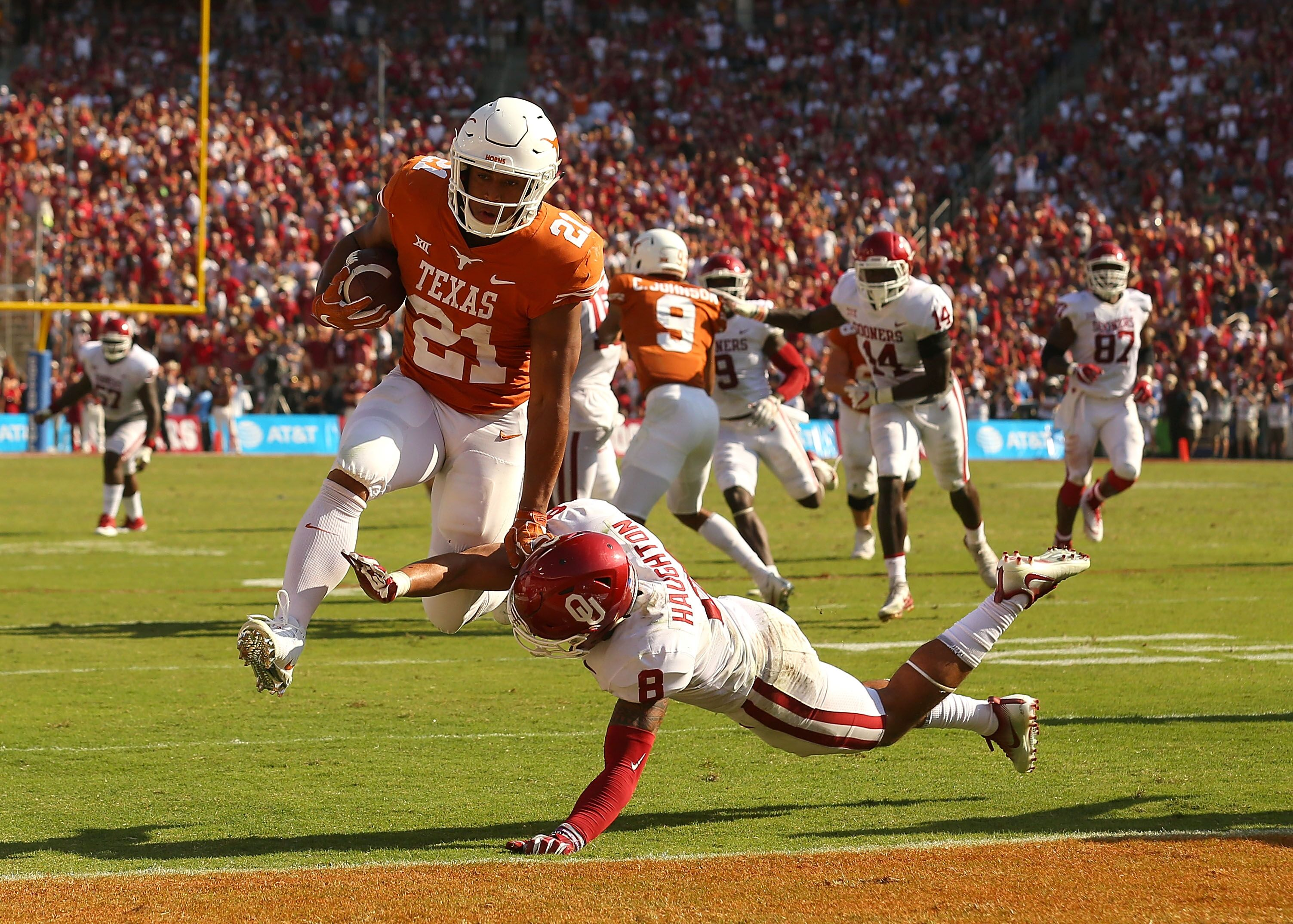 Texas Football: Longhorns lose another late game vs. Oklahoma