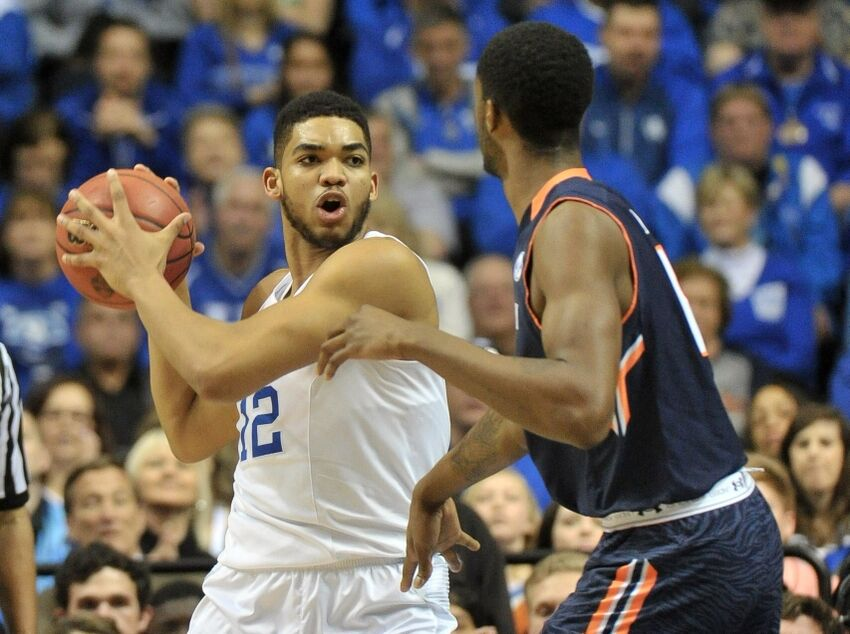 bf95df224 Timberwolves  Karl-Anthony Towns Or Jahlil Okafor