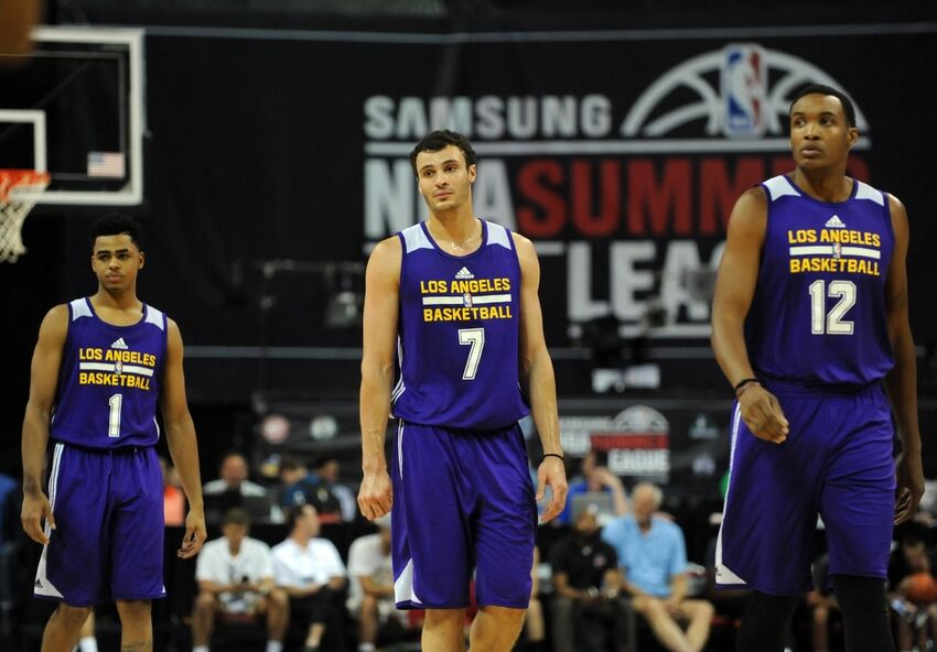new concept bc607 c6a3d Los Angeles Lakers Summer League Review: The Rookies