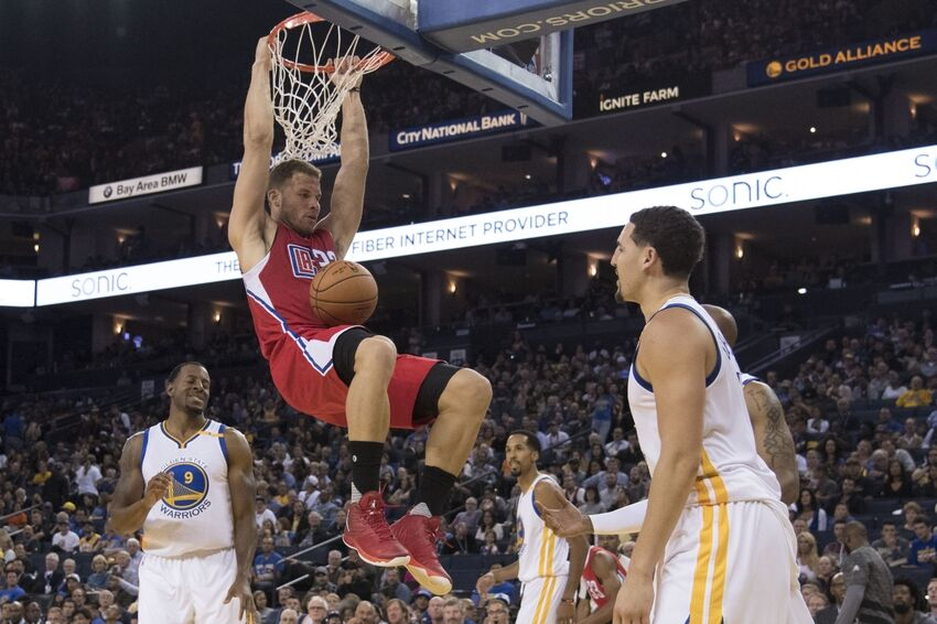 Blake Griffin Clippers Dunk