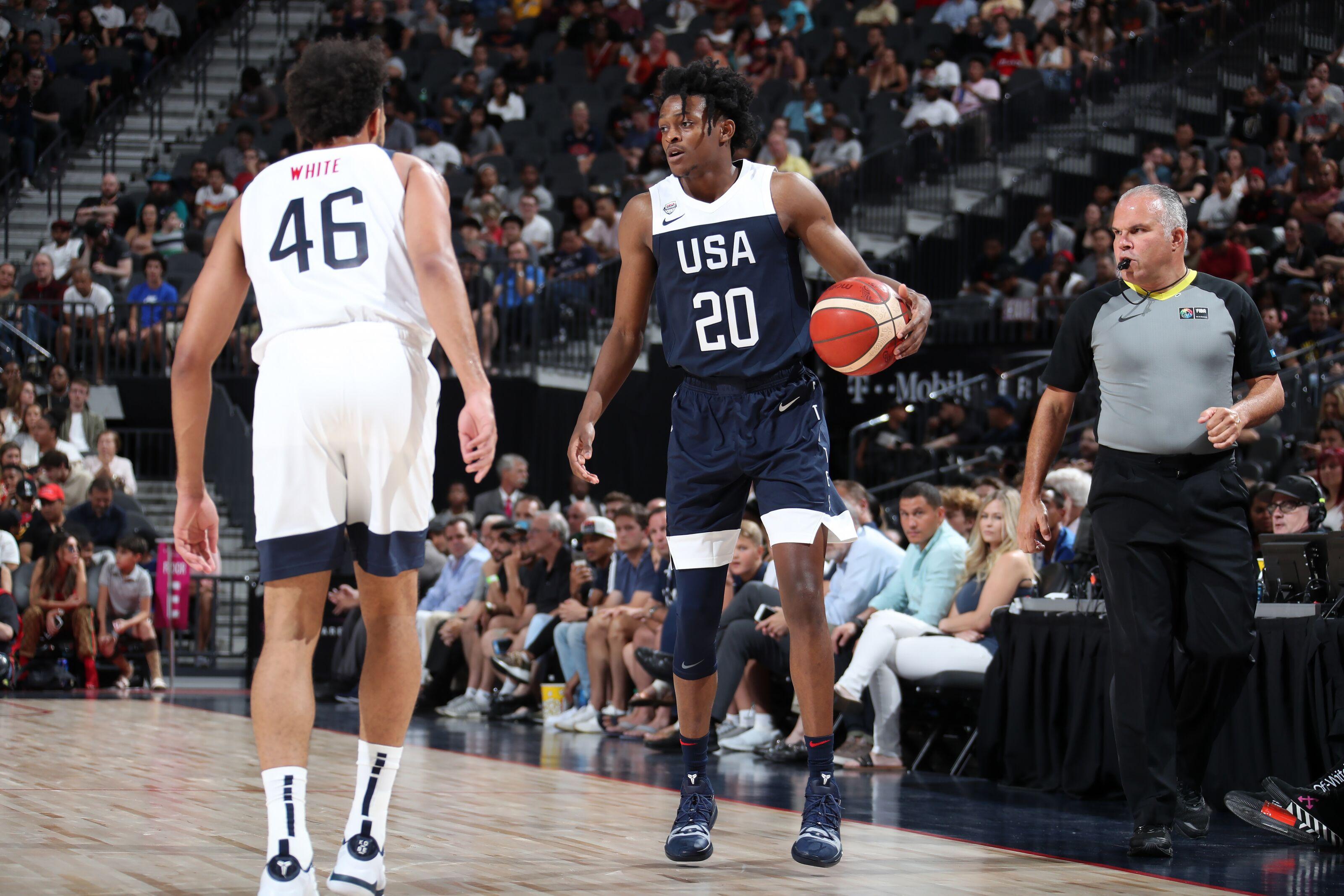 USA Basketball: 1 cut remains after De'Aaron Fox departure