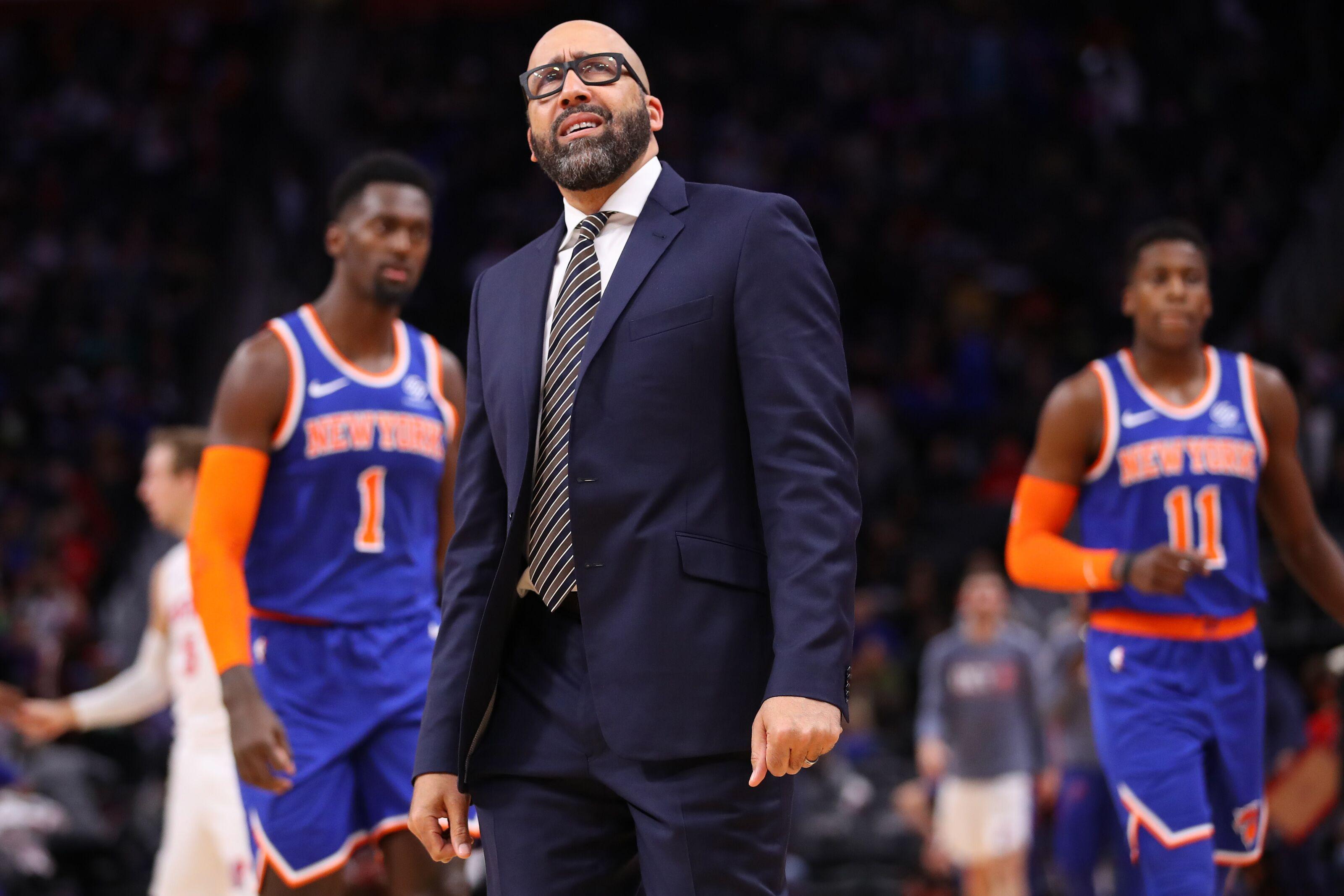 New York Knicks following familiar pattern: Fail, identify fall guy, repeat