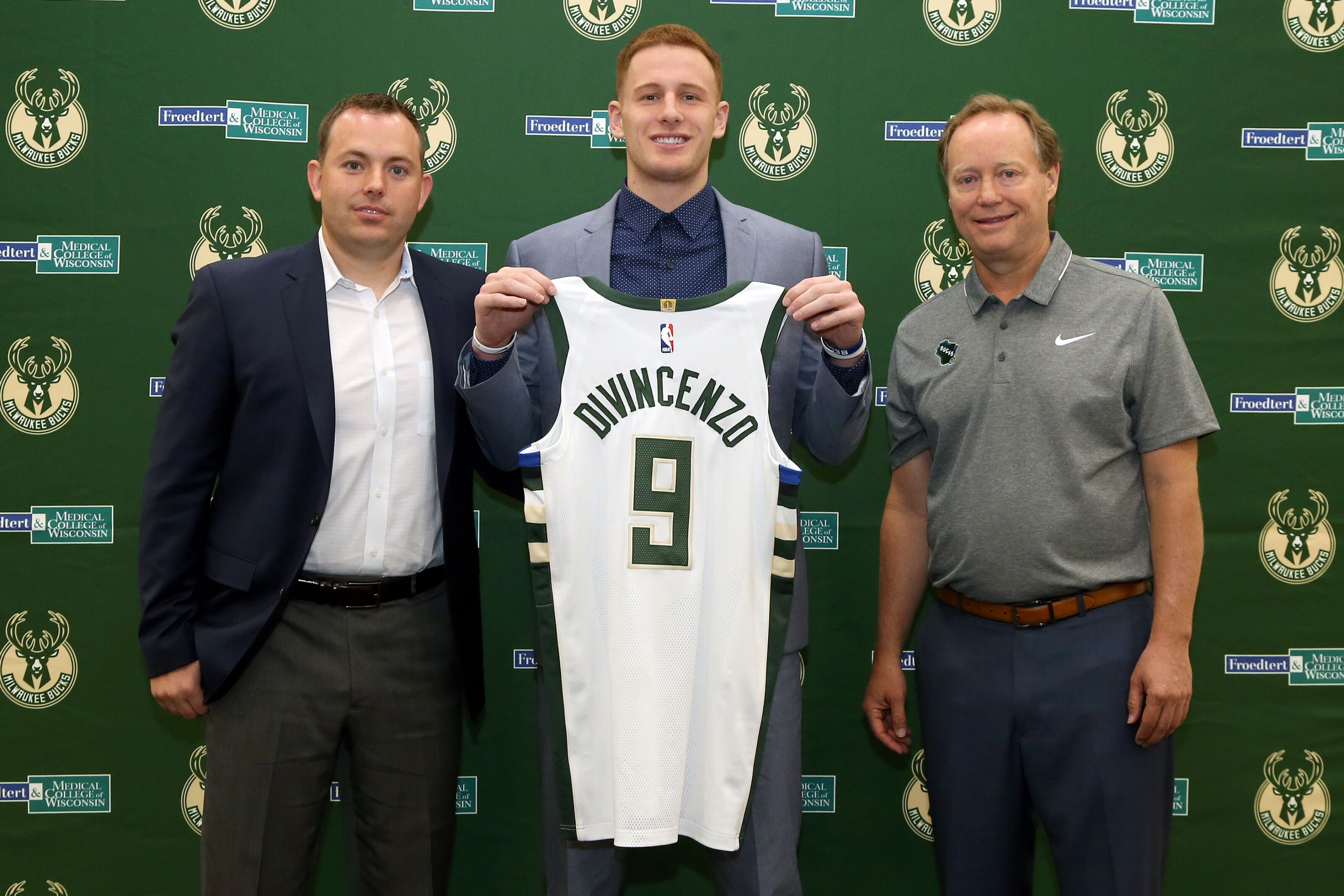 def0cb596598 Milwaukee Bucks  5 goals for Donte DiVincenzo s rookie season