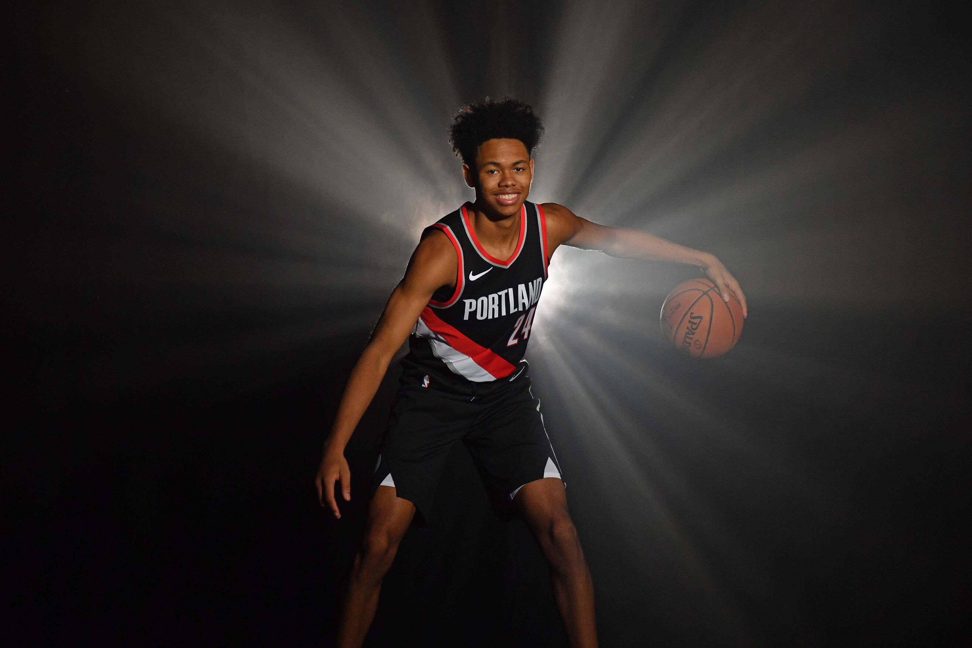 more photos db6ca 5dcd3 Portland Trail Blazers: Anfernee Simons' possible ...