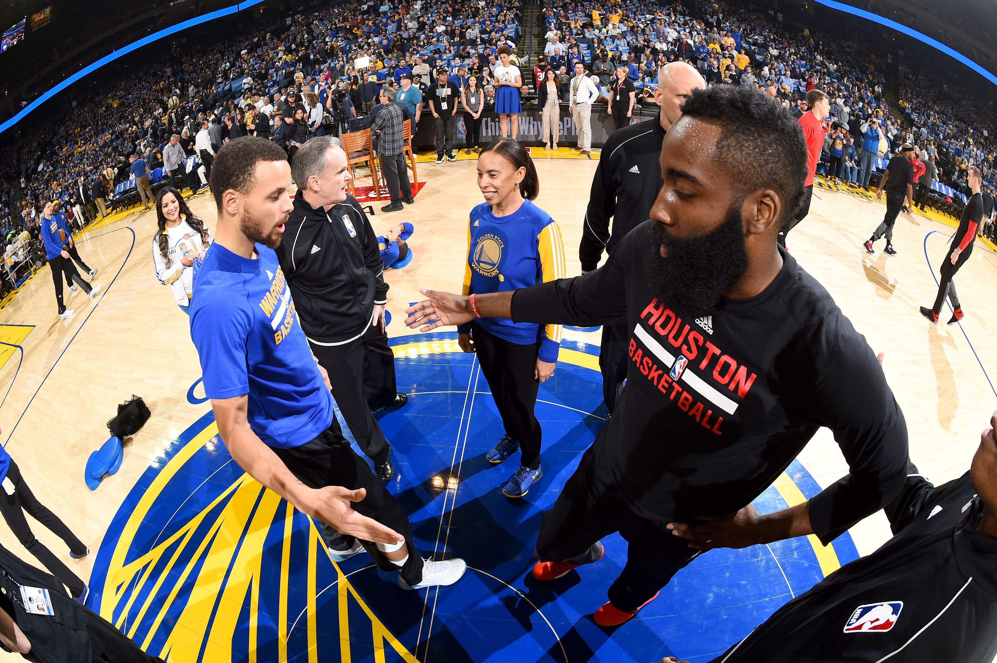 new style 4fe6b b544f 2018 NBA Playoffs  Houston Rockets vs. Golden State Warriors preview