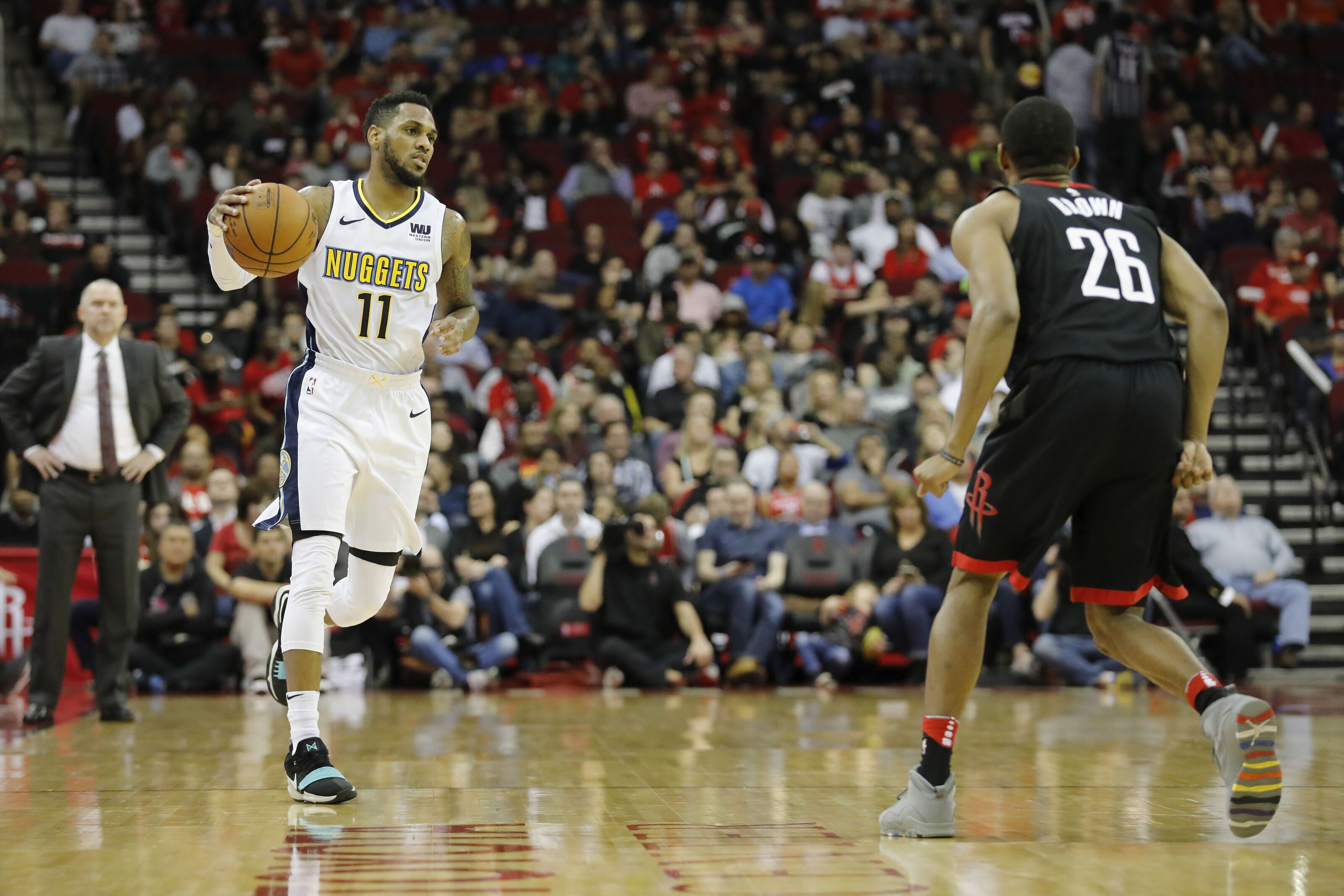 newest 0c930 5b643 Denver Nuggets roster appears set with Monte Morris signing