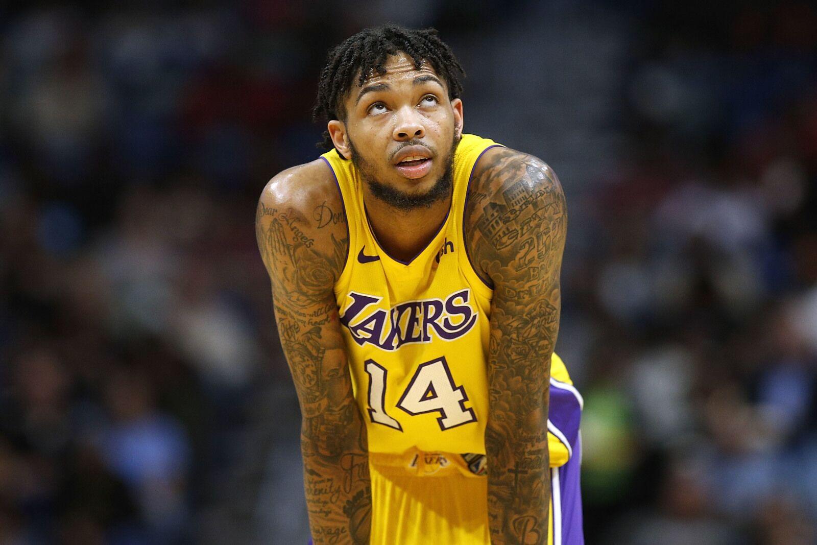 7f28d7ccaea Los Angeles Lakers  2017-18 player grades for Brandon Ingram