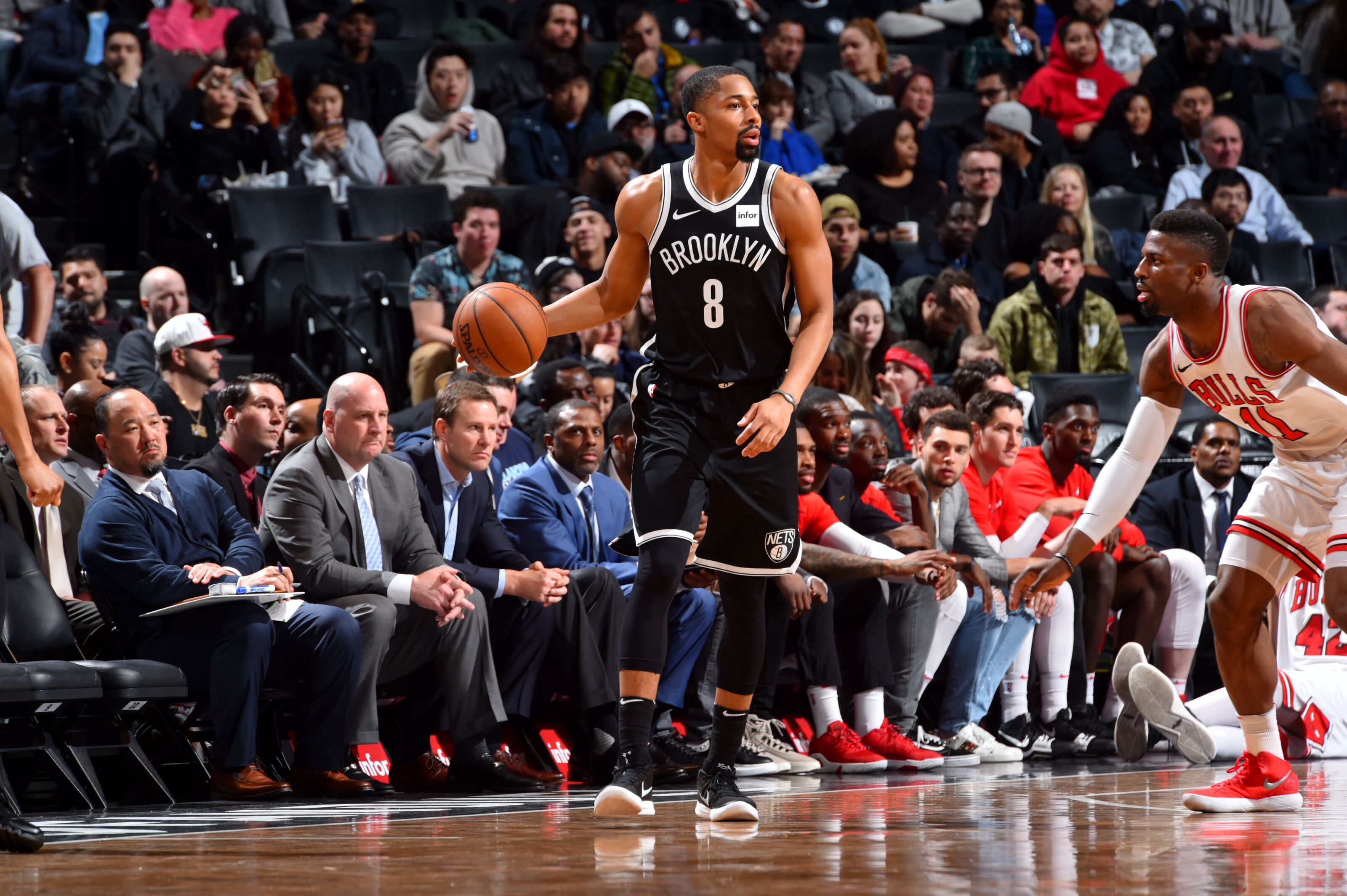6afc53d7a Brooklyn Nets  Spencer Dinwiddie could be an extension candidate