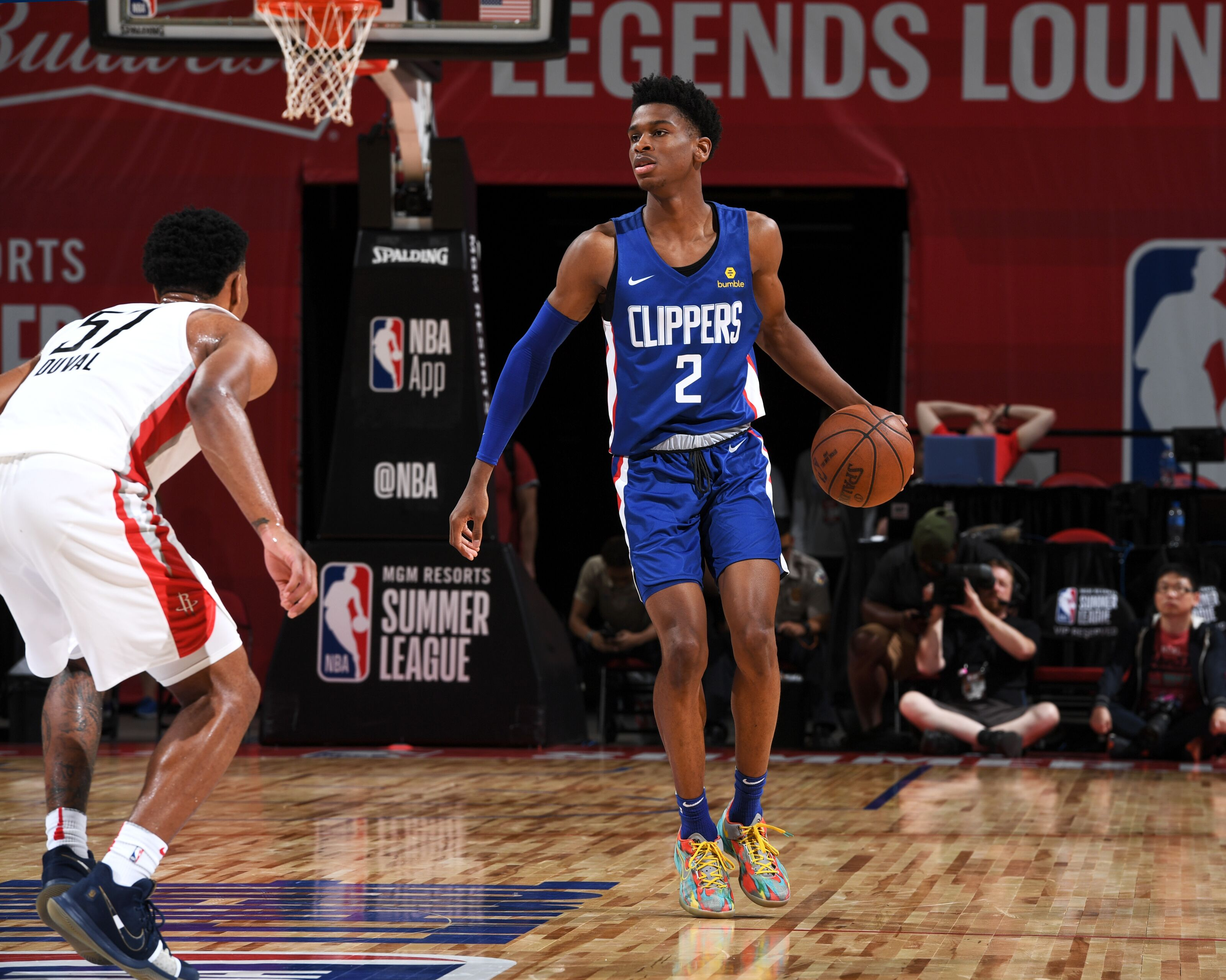 9feea1a7f96 Shai Gilgeous-Alexander exudes confidence in NBA Summer League