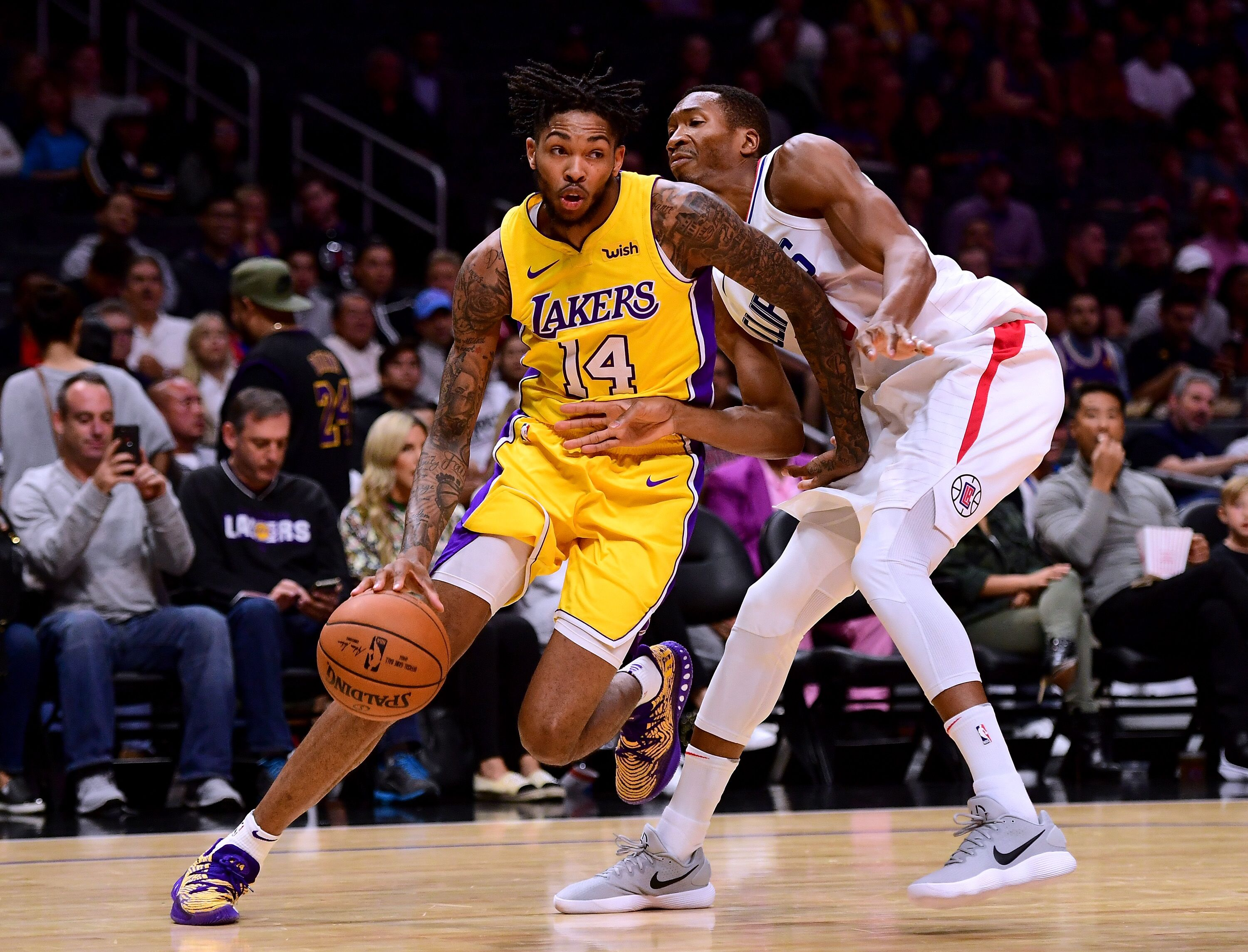 Image result for lakers v clippers