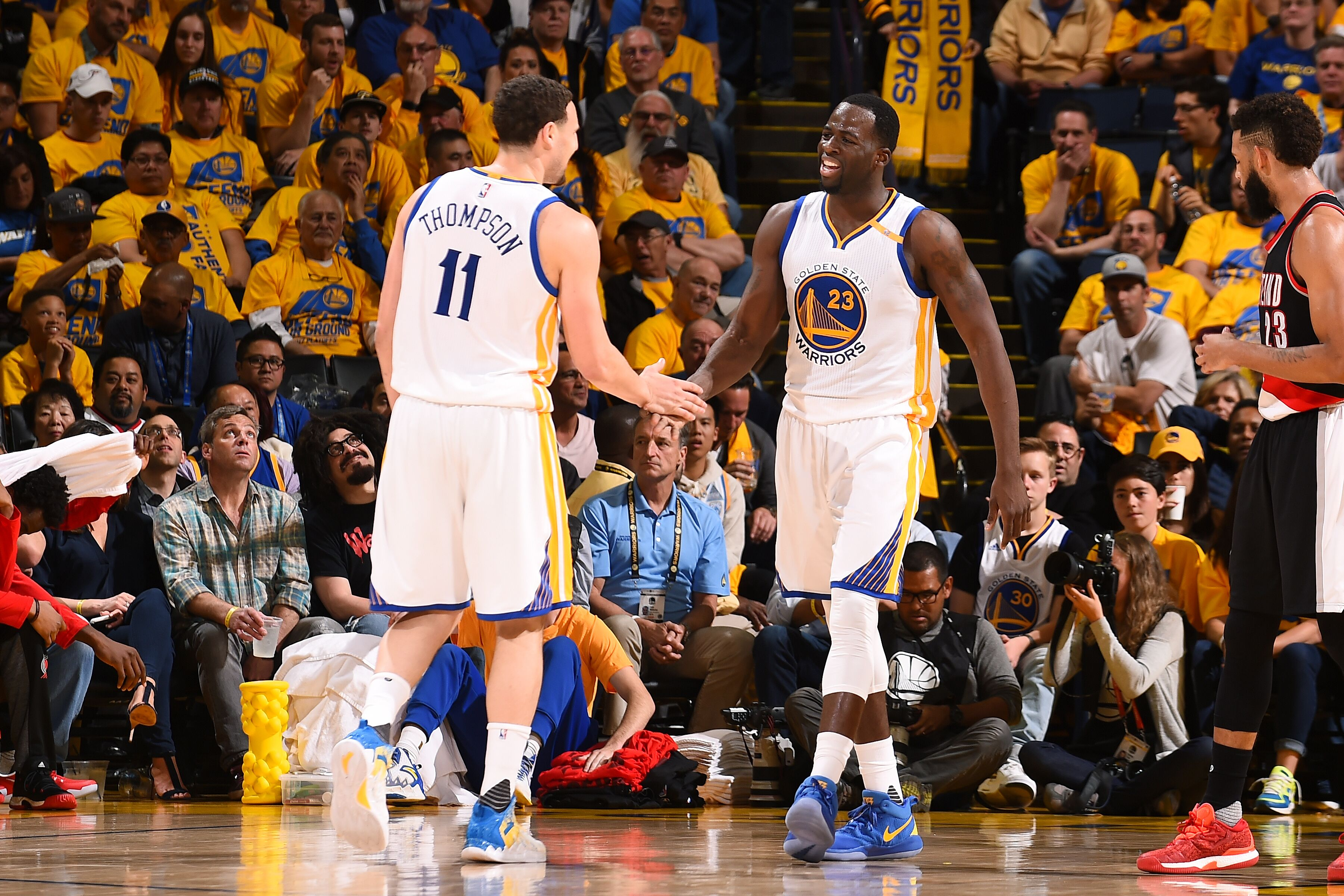 cac74a1b653 Where do Draymond Green and Klay Thompson rank among NBA duos