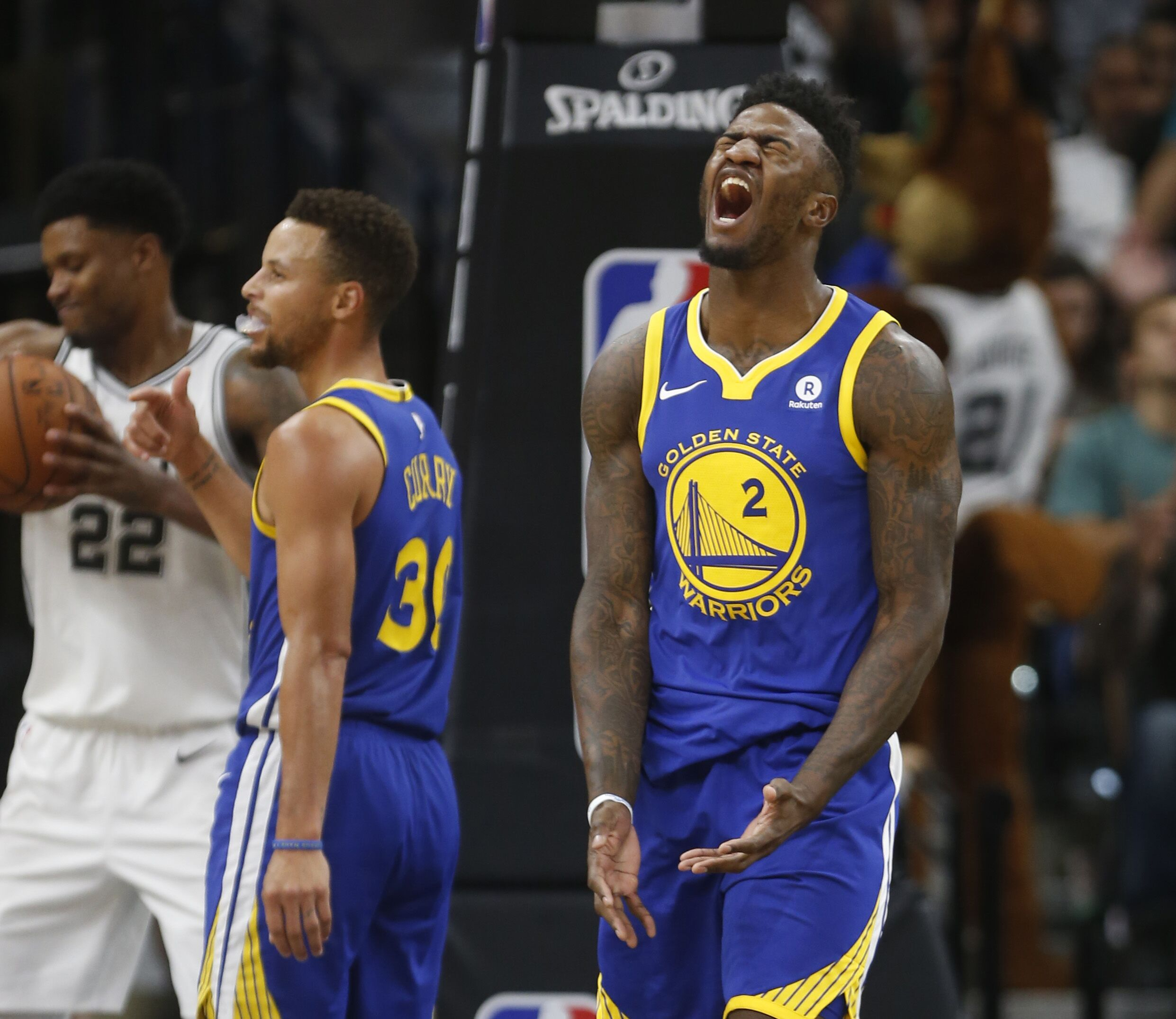 Warriors Record Without Stephen Curry 2017: Golden State Warriors: Jordan Bell's Case For All-Rookie