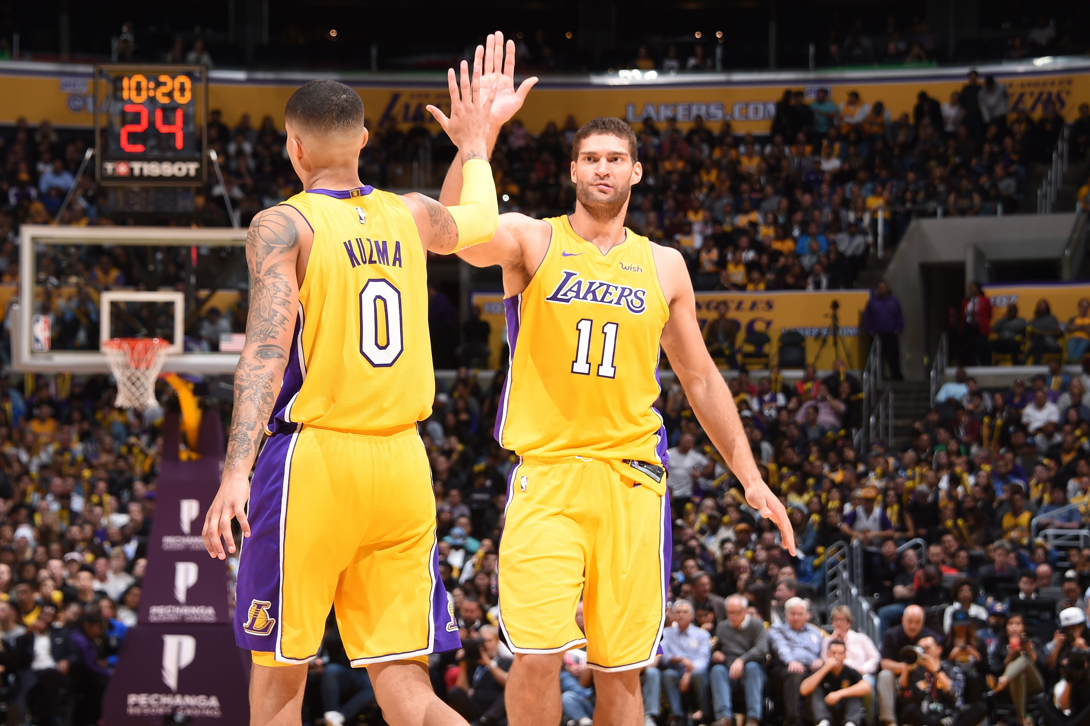 32998da9b Los Angeles Lakers frontcourt overhaul paying dividends this season