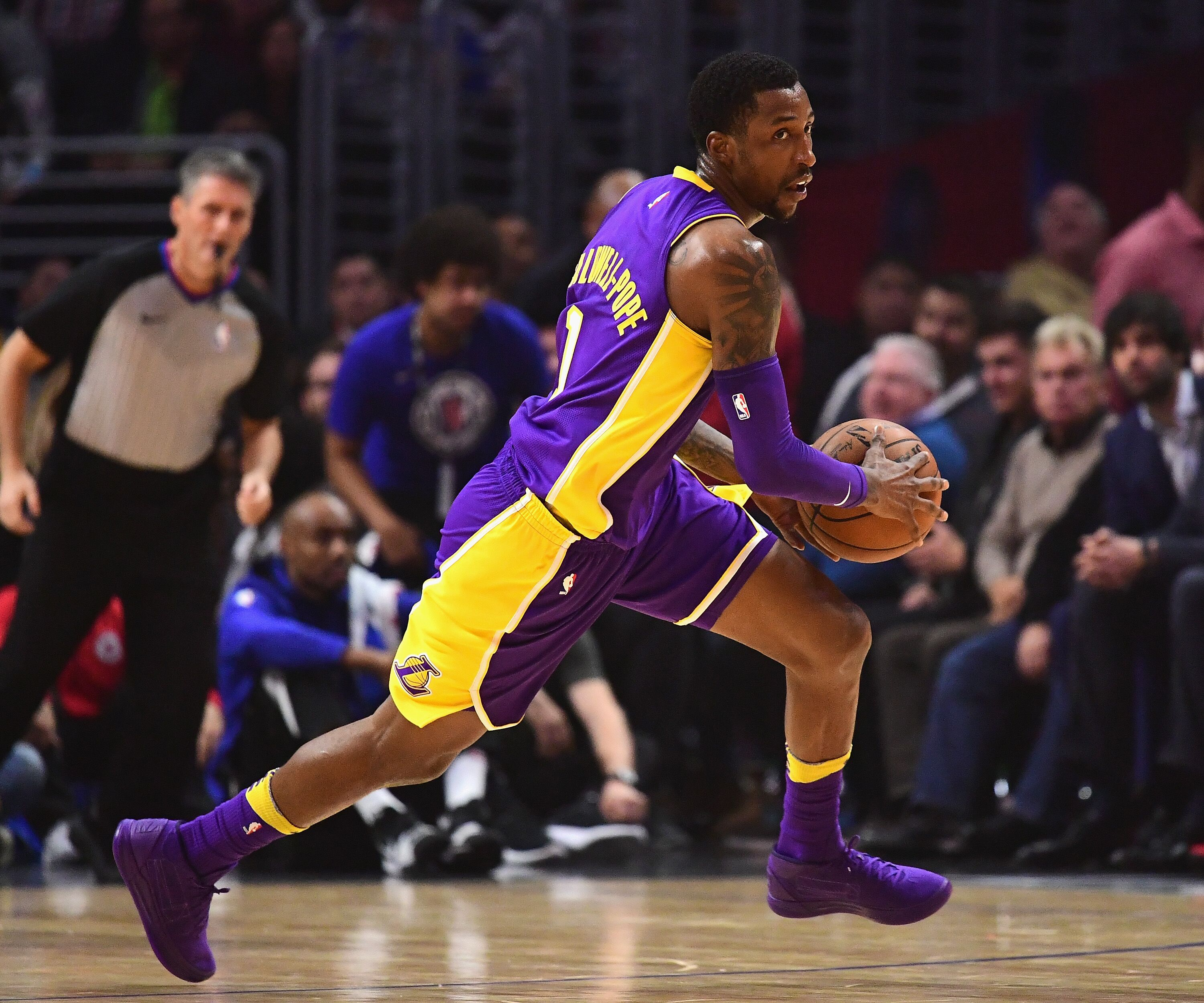 5c797eff30b Los Angeles Lakers: A backcourt duo to help defensive woes
