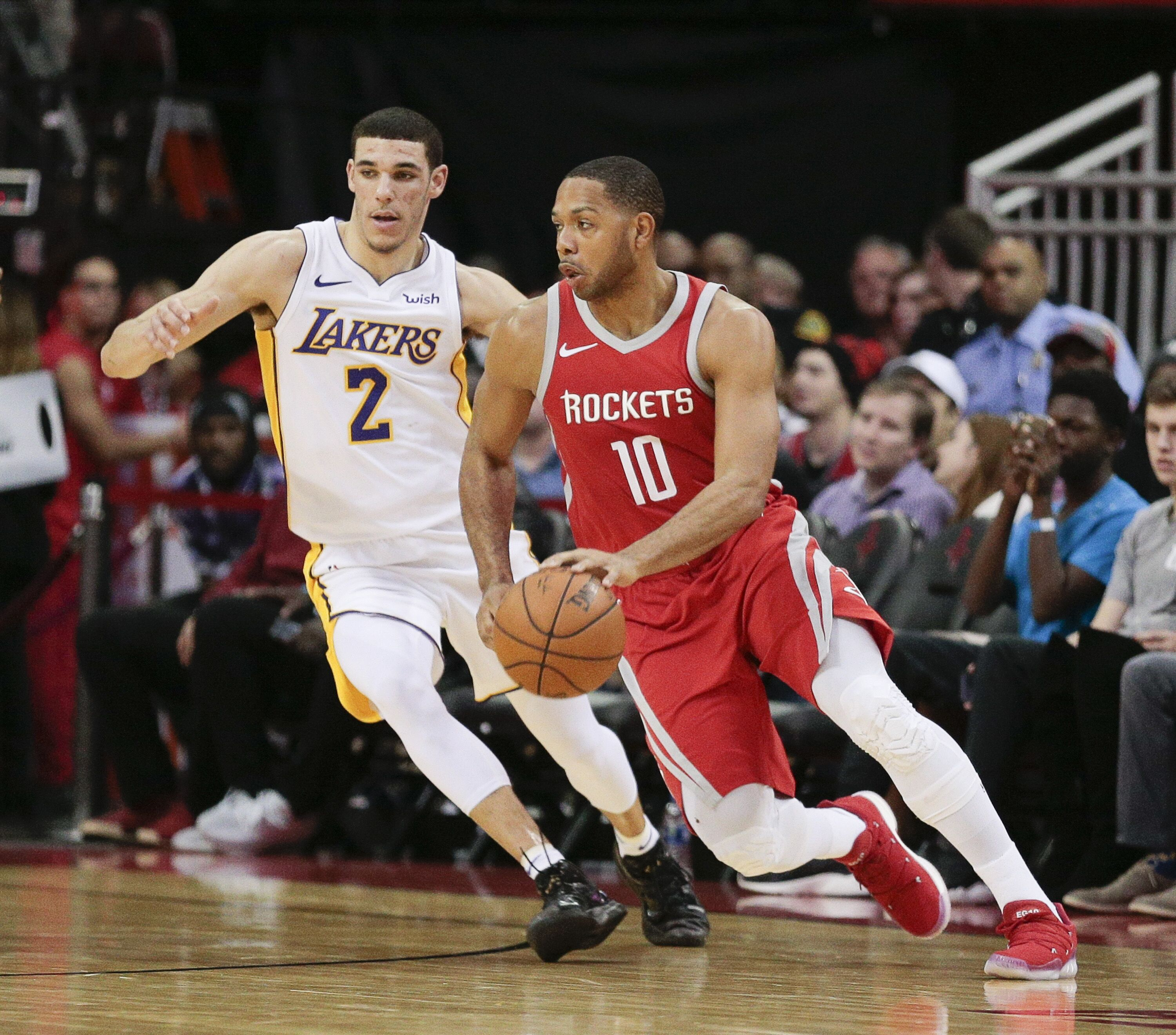 Houston Rockets Championship Roster: Houston Rockets: Eric Gordon Is Stepping Up In James