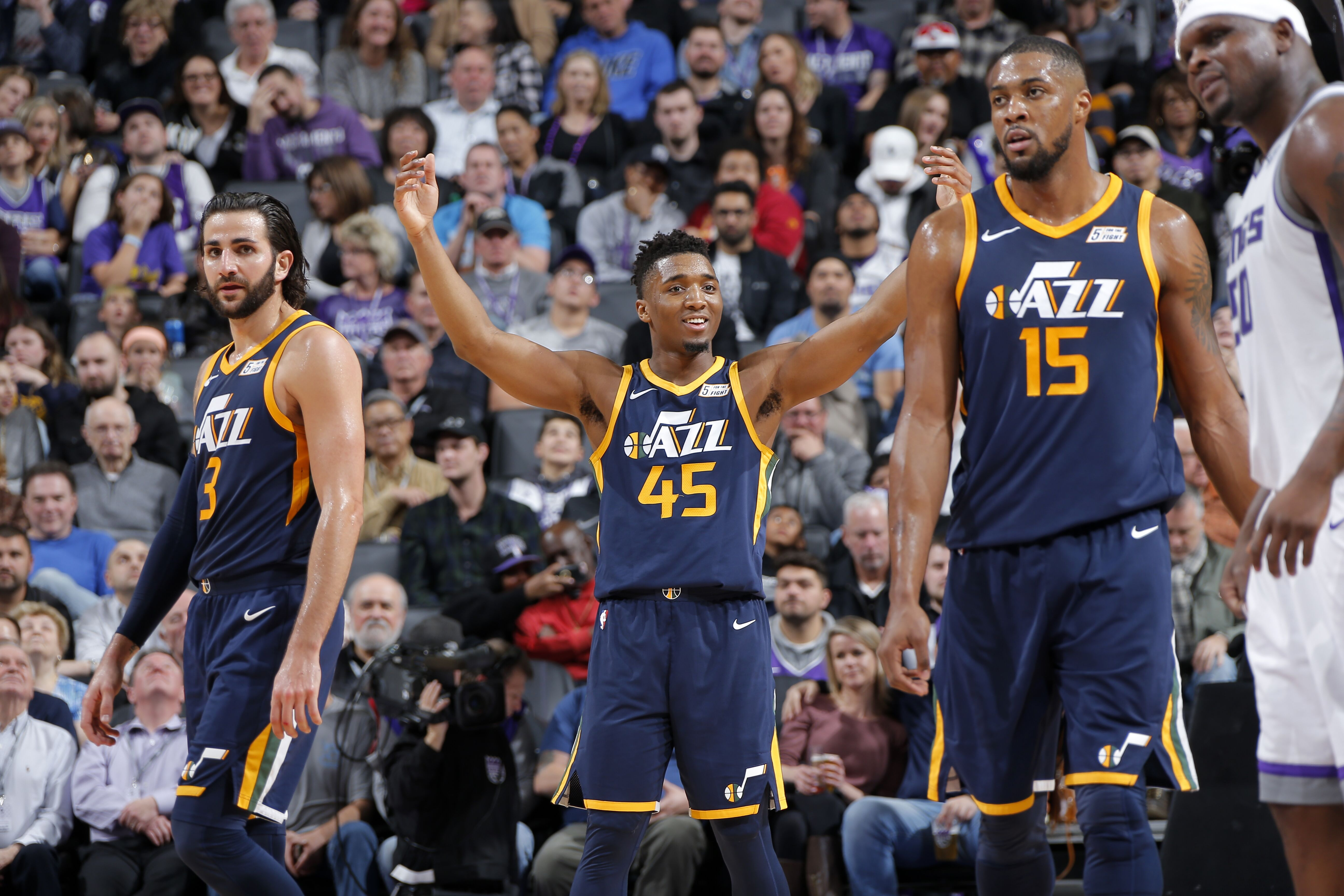 finest selection 4f53d 67168 Utah Jazz: Donovan Mitchell deserves to be in the Slam Dunk ...