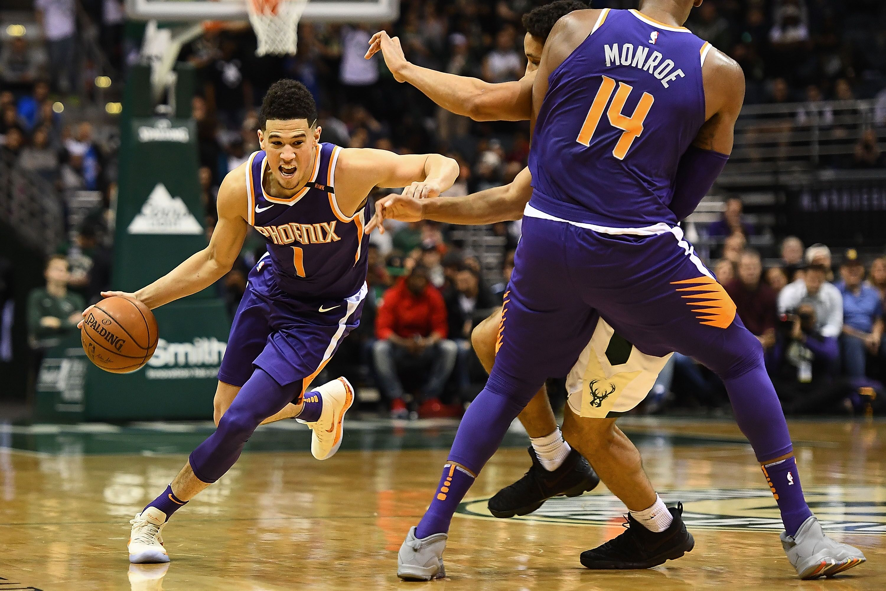 e024533ce72e Phoenix Suns  The pros and cons of starting Devin Booker at point guard