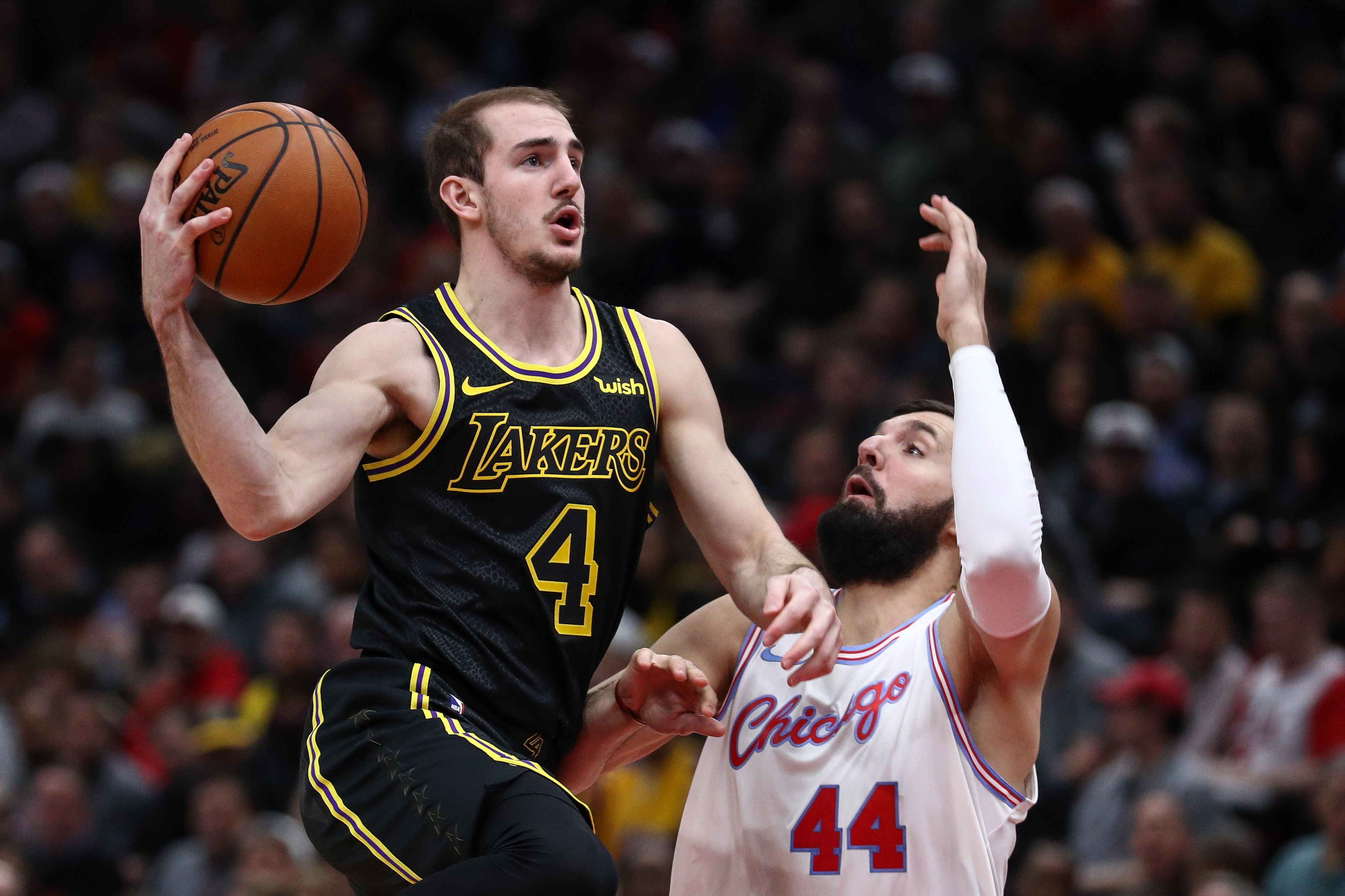 61b41d036 Los Angeles Lakers  Alex Caruso s days on two-way contract almost up