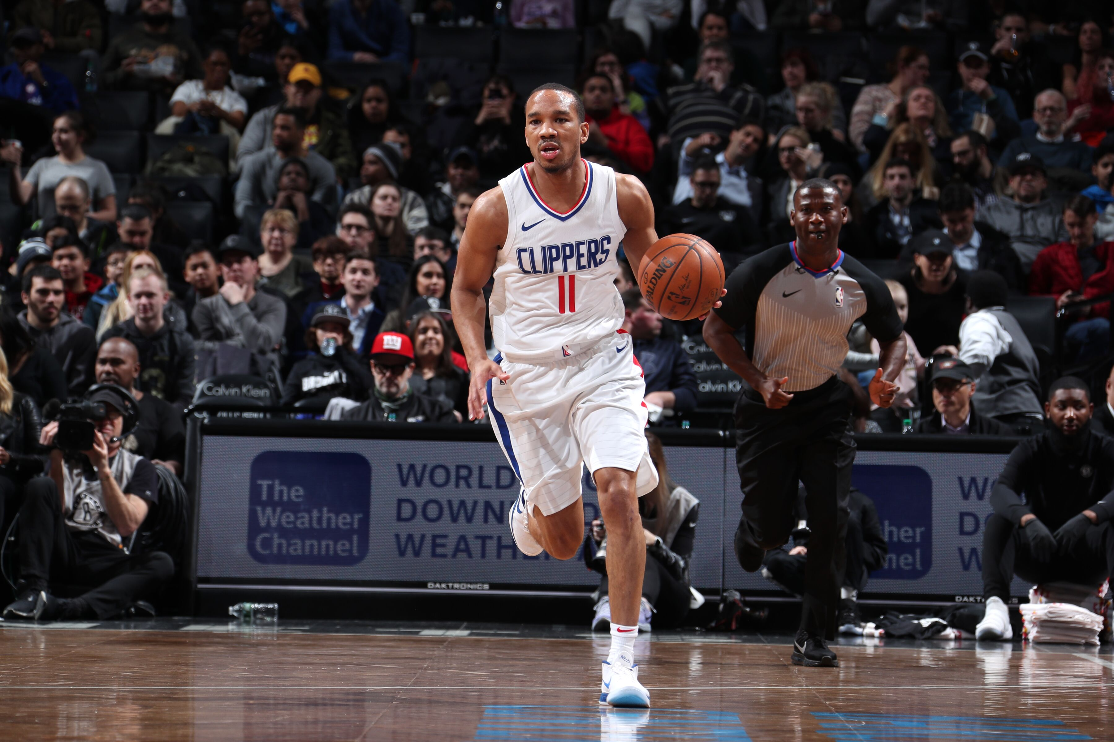 587e660aaba001 Los Angeles Clippers  Early returns on Avery Bradley