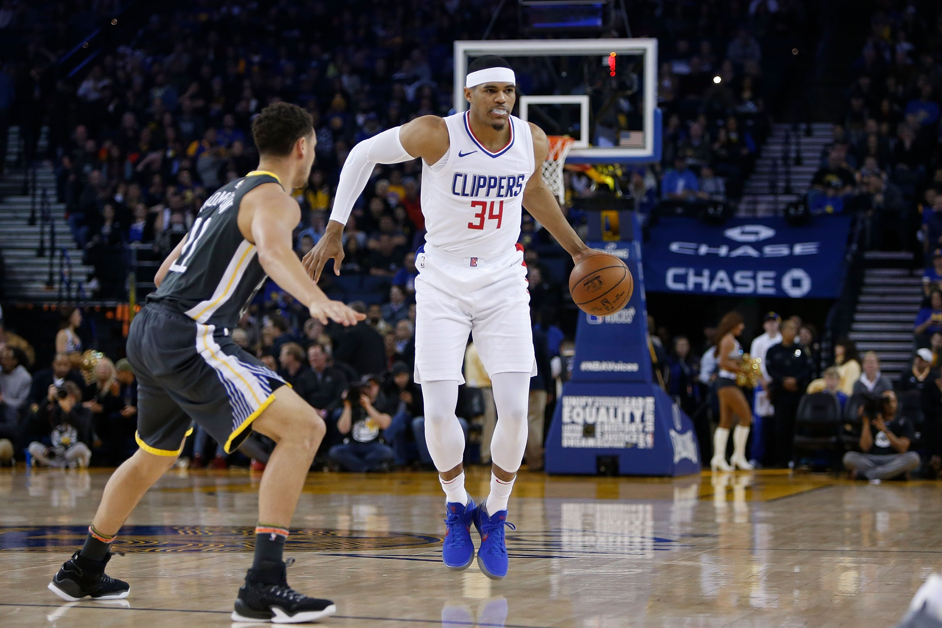 buy popular fe0a7 18ff7 Los Angeles Clippers: Tobias Harris proving Blake Griffin ...