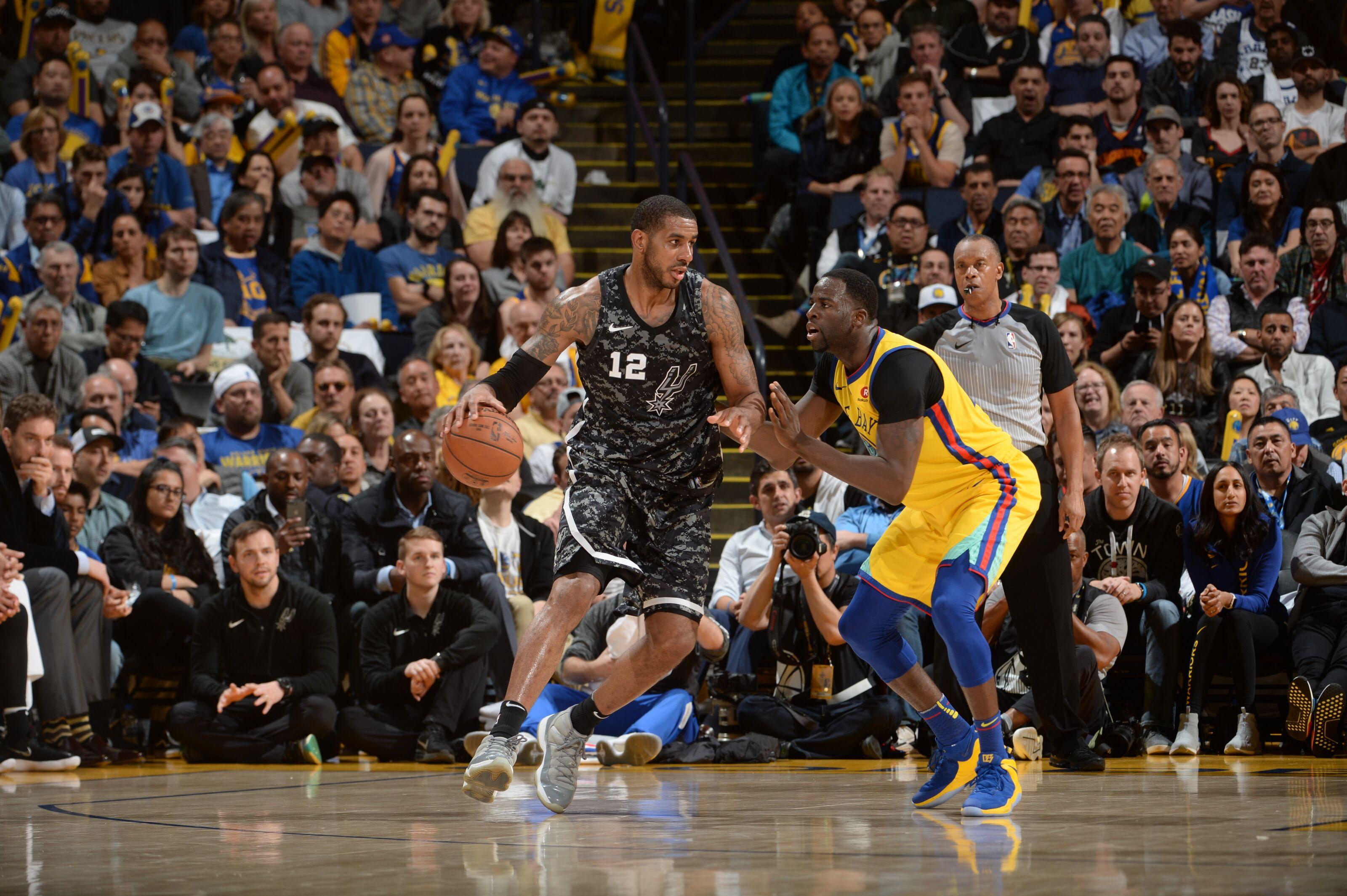 88aa8e4b8e6f 2018 NBA Playoffs  Golden State Warriors vs. San Antonio Spurs preview