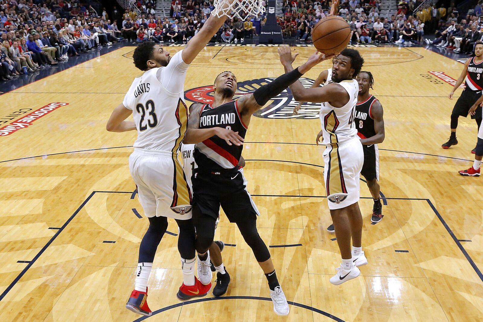 Pelicans Vs Trail Blazers Detail: 2018 NBA Playoffs: Trail Blazers Vs. New Orleans Pelicans