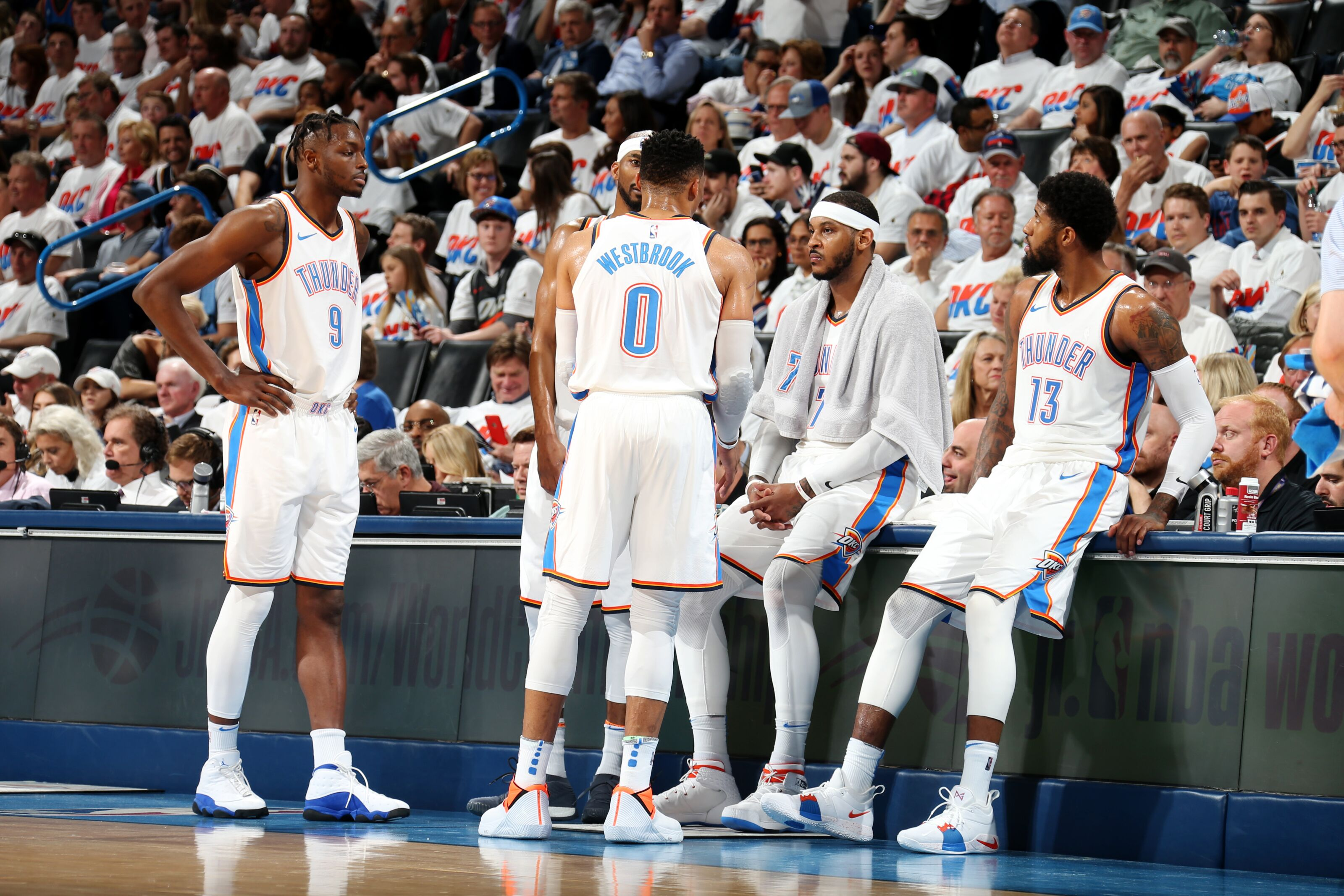 Oklahoma City Thunder  3 takeaways from Game 2 vs. Jazz 748d41e85