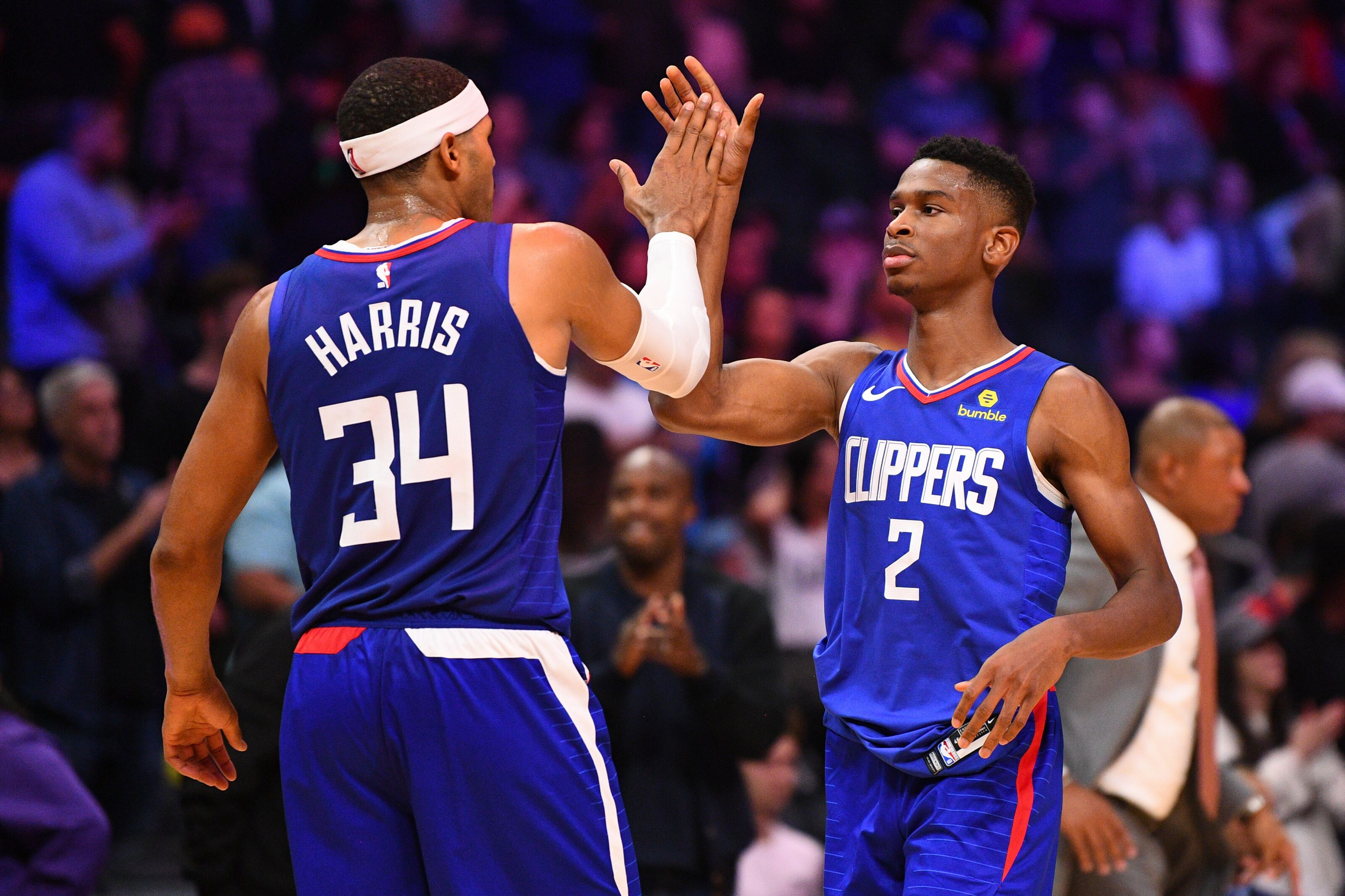 Los Angeles Clippers  Shai Gilgeous-Alexander climbing rookie ladder 2a6429ca7