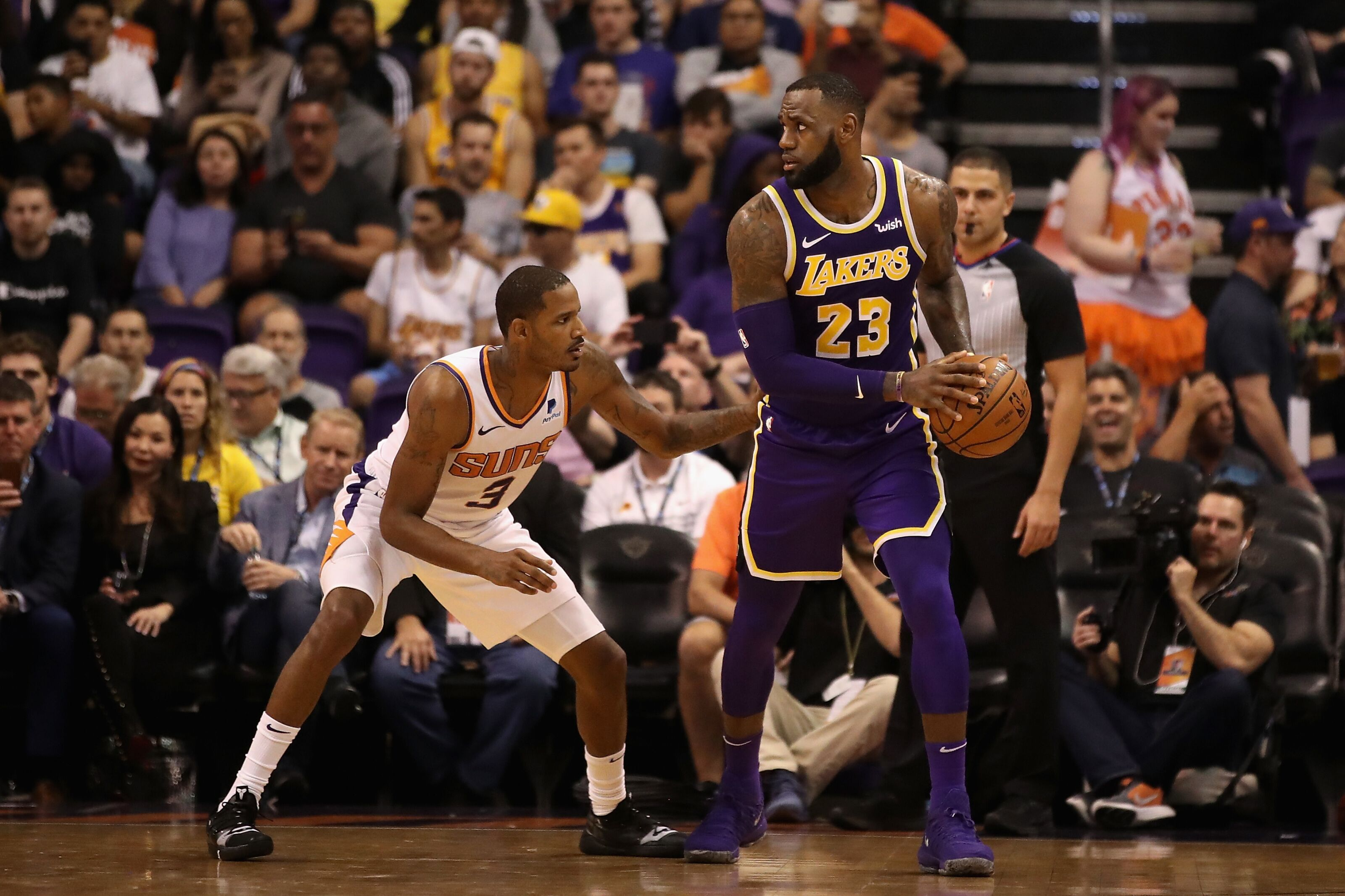 1c7e9f7ad Los Angeles Lakers  Thoughts on potential Trevor Ariza trade