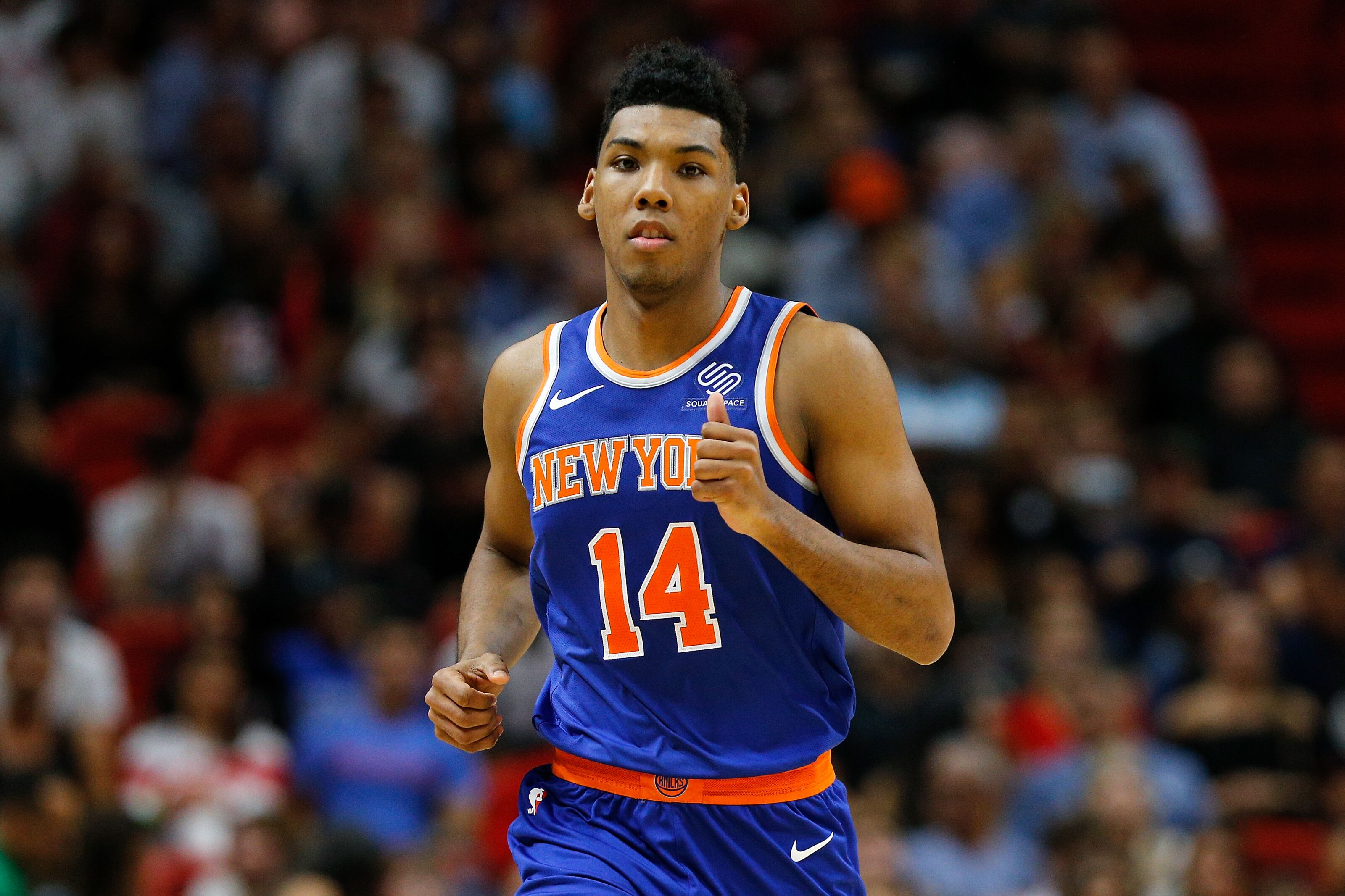 timeless design 0679d 569cc New York Knicks: Allonzo Trier looks like an absolute steal ...