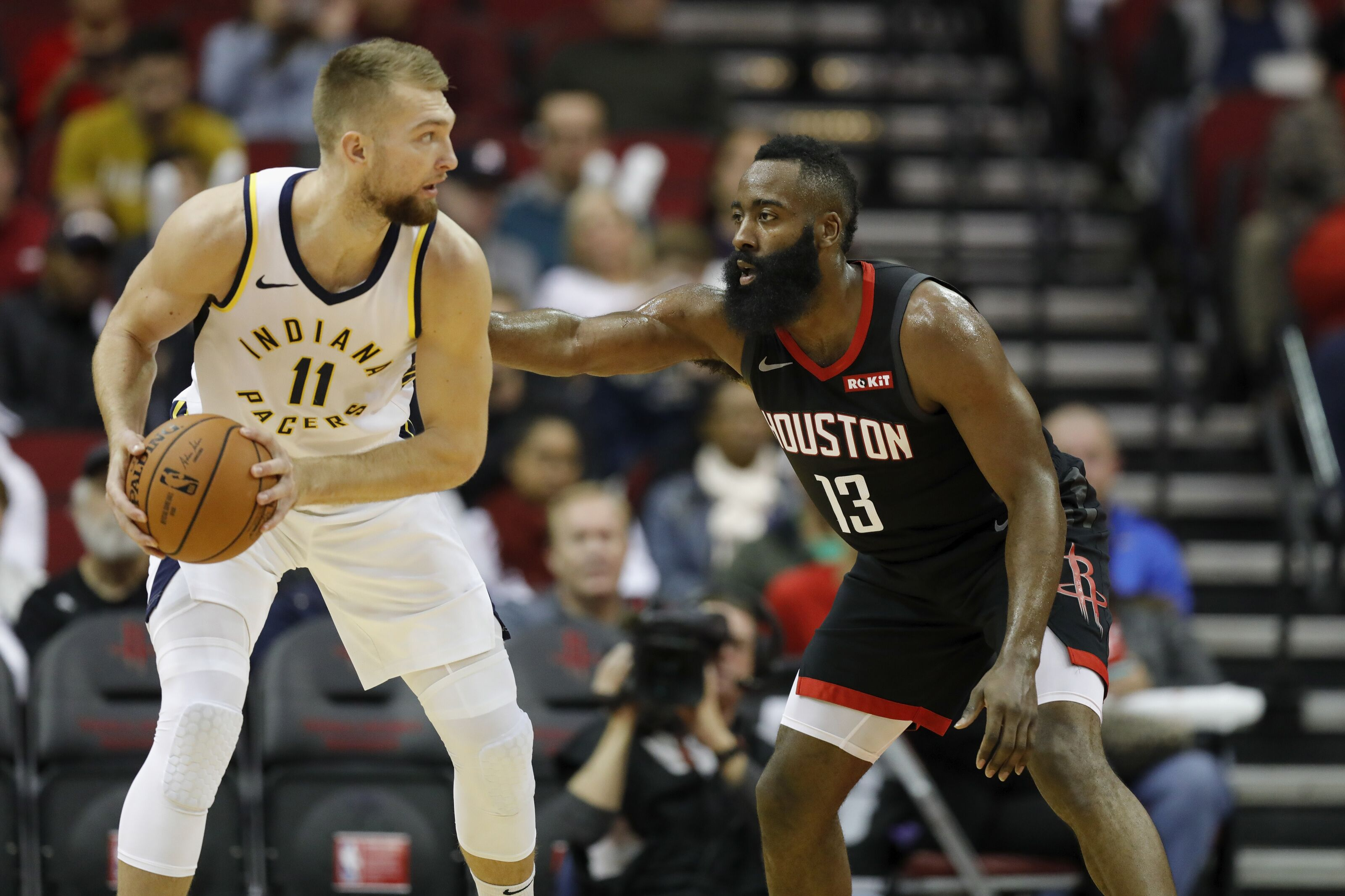 54956ccb6b6e Houston Rockets  James Harden s progress on the defensive end