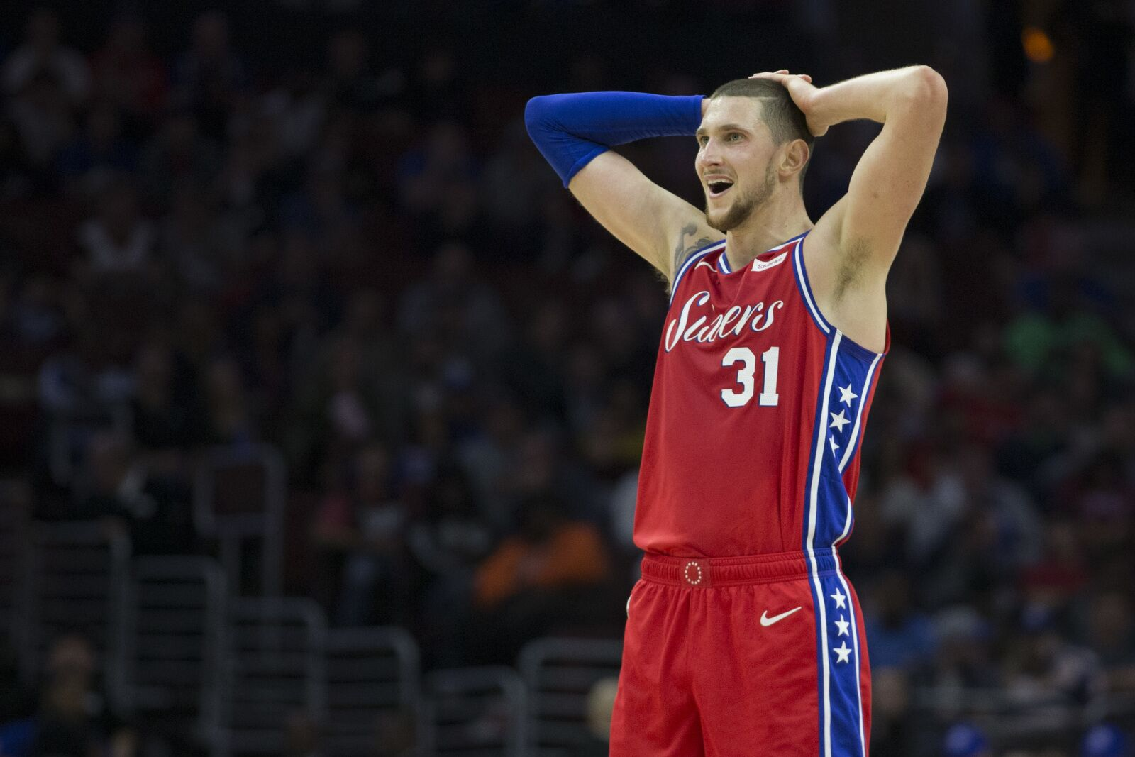 quality design 03dbb 54d5d Philadelphia 76ers: The real importance of Mike Muscala