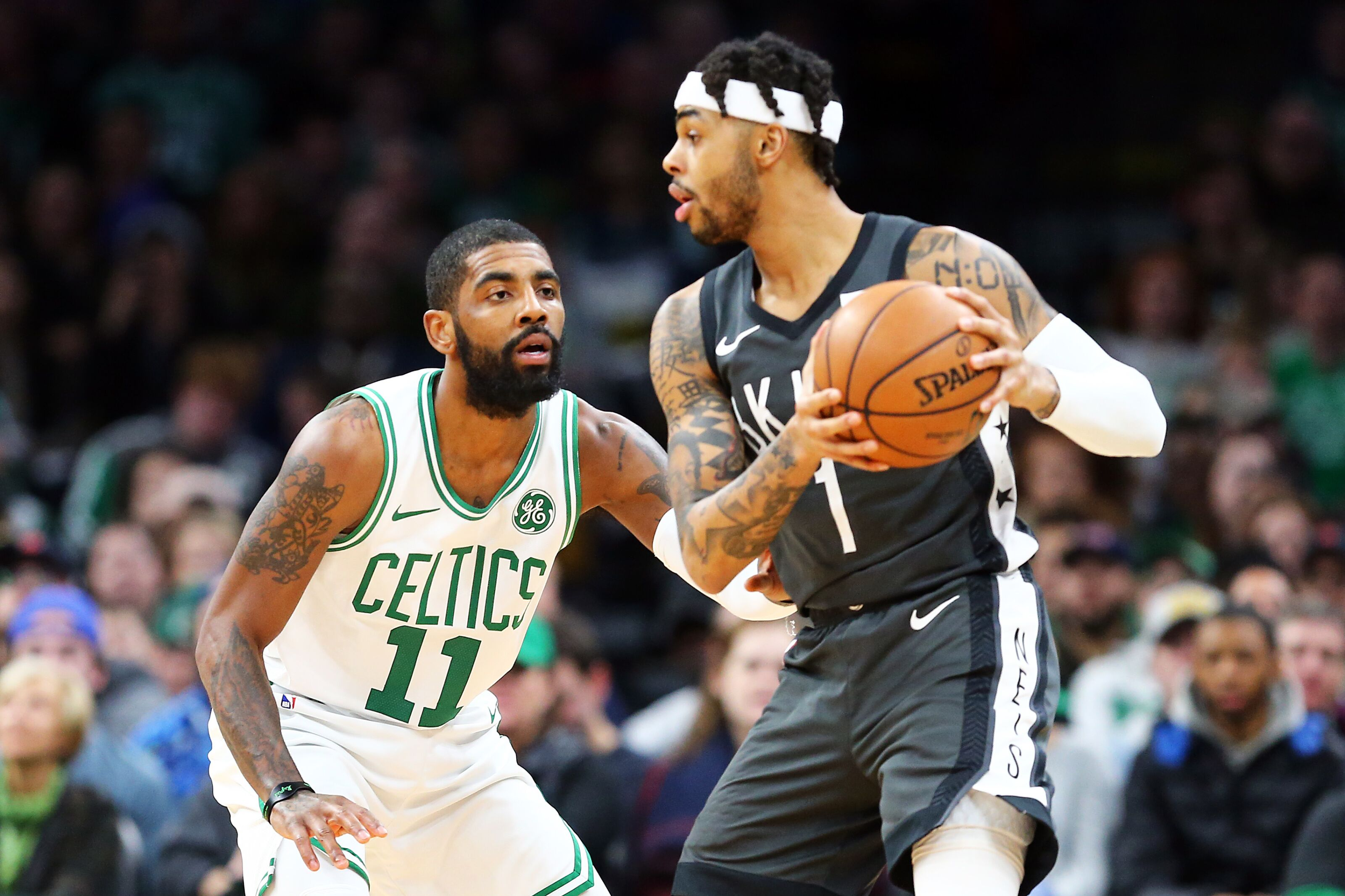 the latest 349b2 07bc0 Brooklyn Nets: Projecting the Kyrie Irving-D'Angelo Russell duo