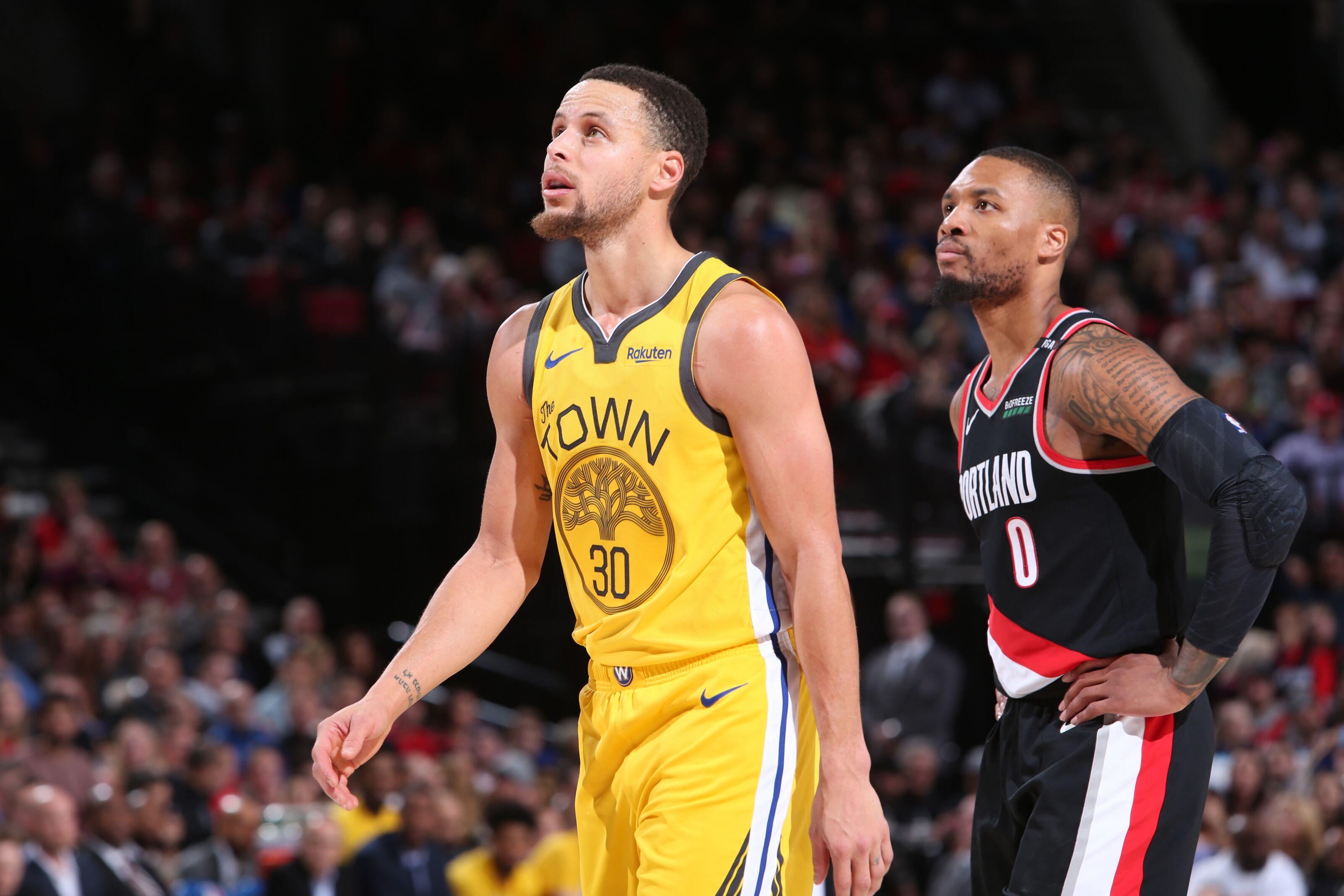 2019 NBA Playoffs: Golden State Warriors vs. Portland ...