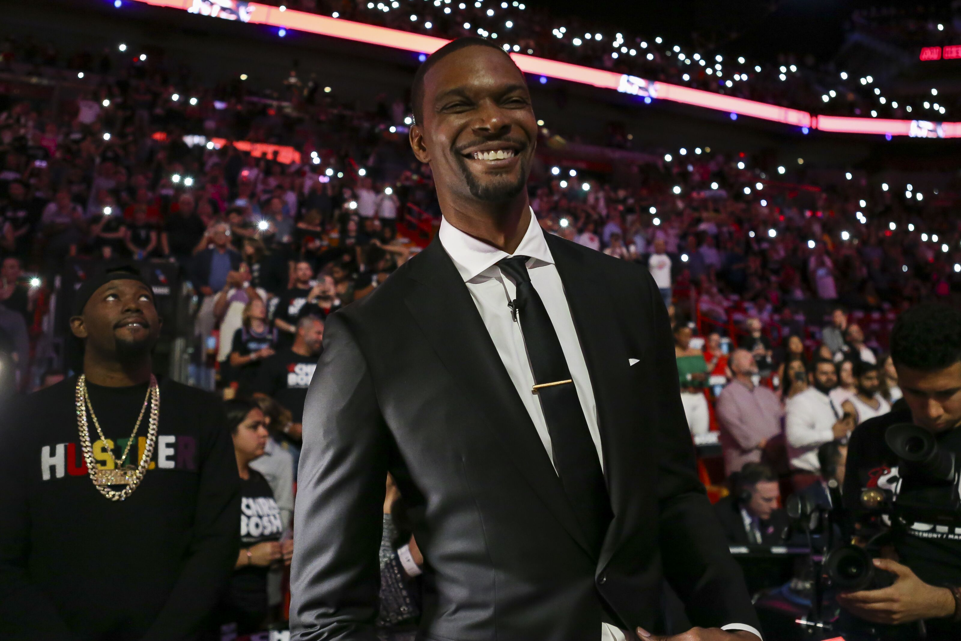 eb80538ccc2 Miami Heat: Chris Bosh's retirement ceremony came at the perfect time